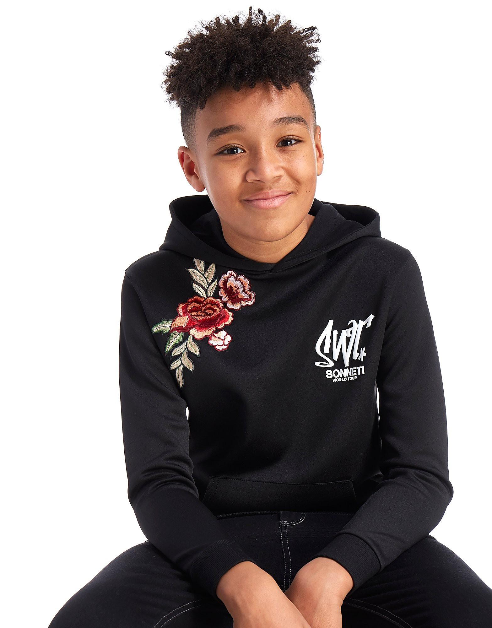 Sonneti Flower Applique Hoodie Junior