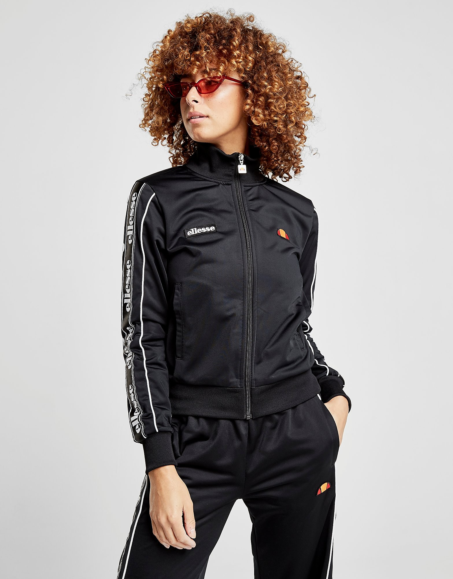 Ellesse Tape Popper Track Top Dames