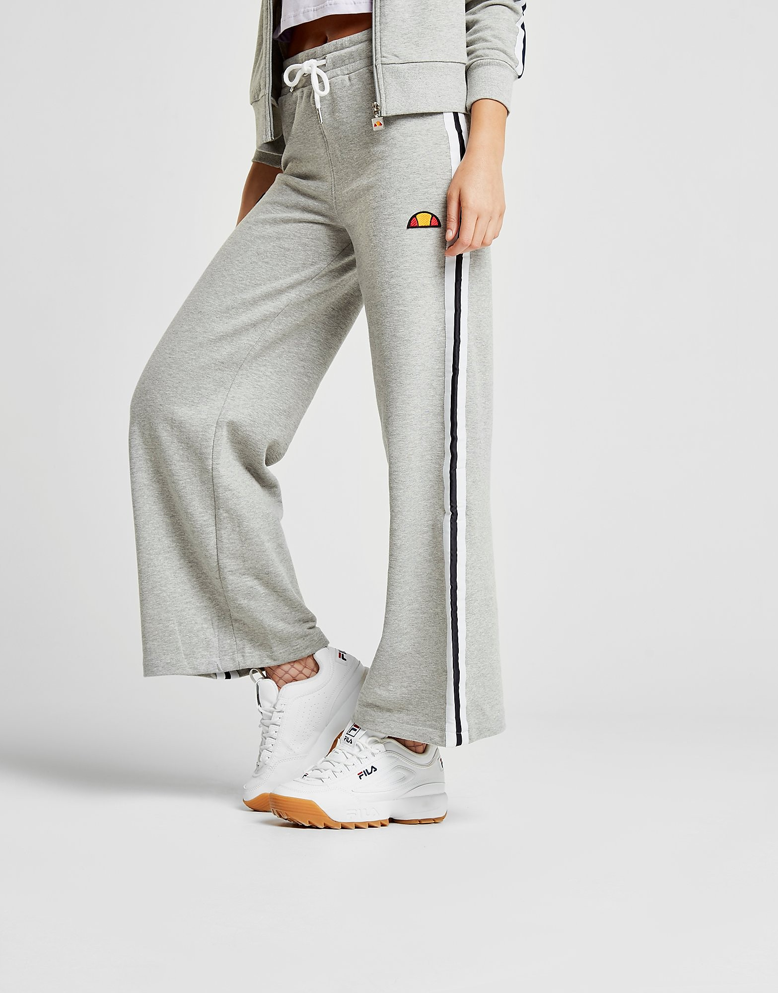 Ellesse Stripe Wide Leg Pants