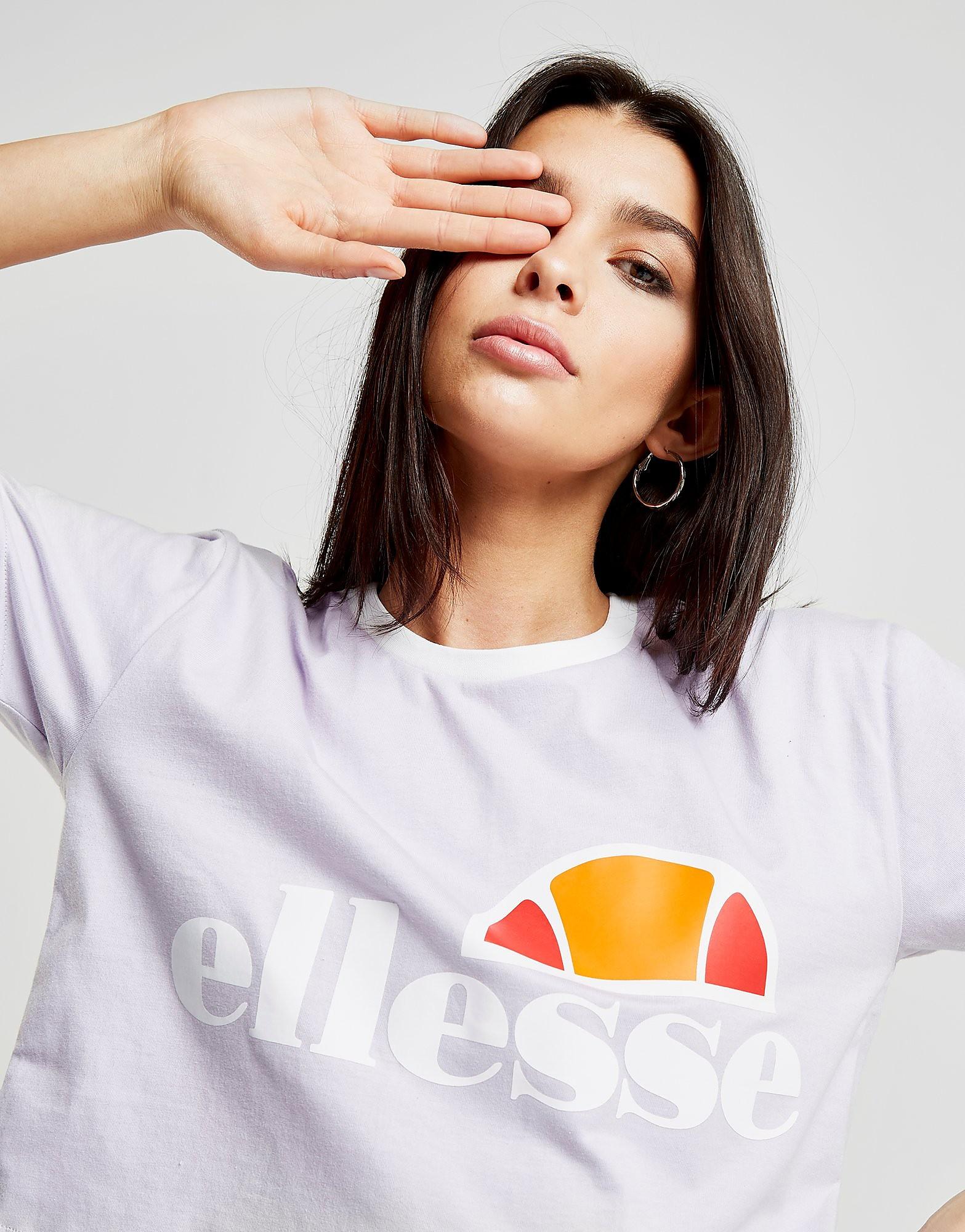 Ellesse Crop Ringer T-Shirt