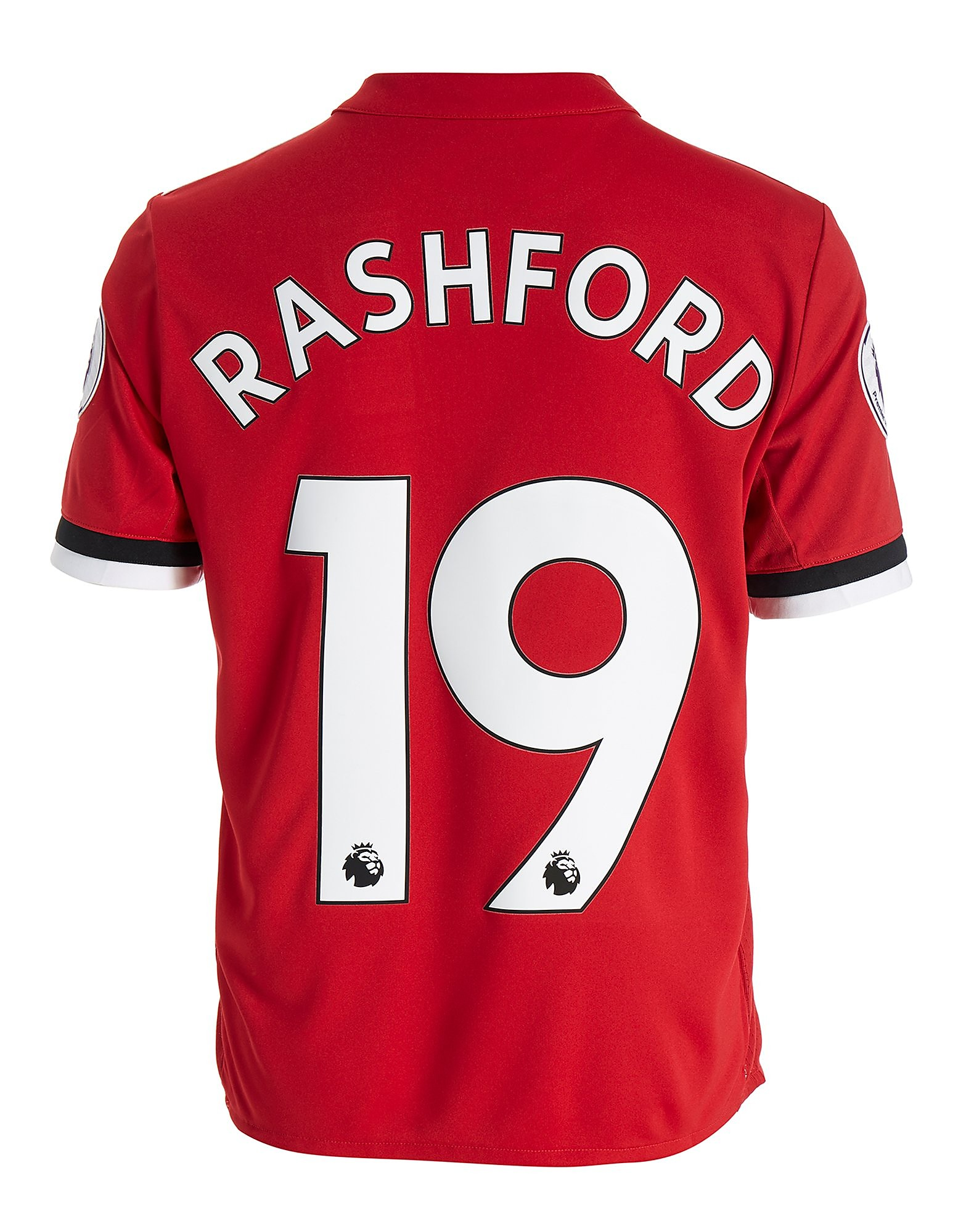 adidas Manchester United Rashford 2017/18 Home Shirt Jnr