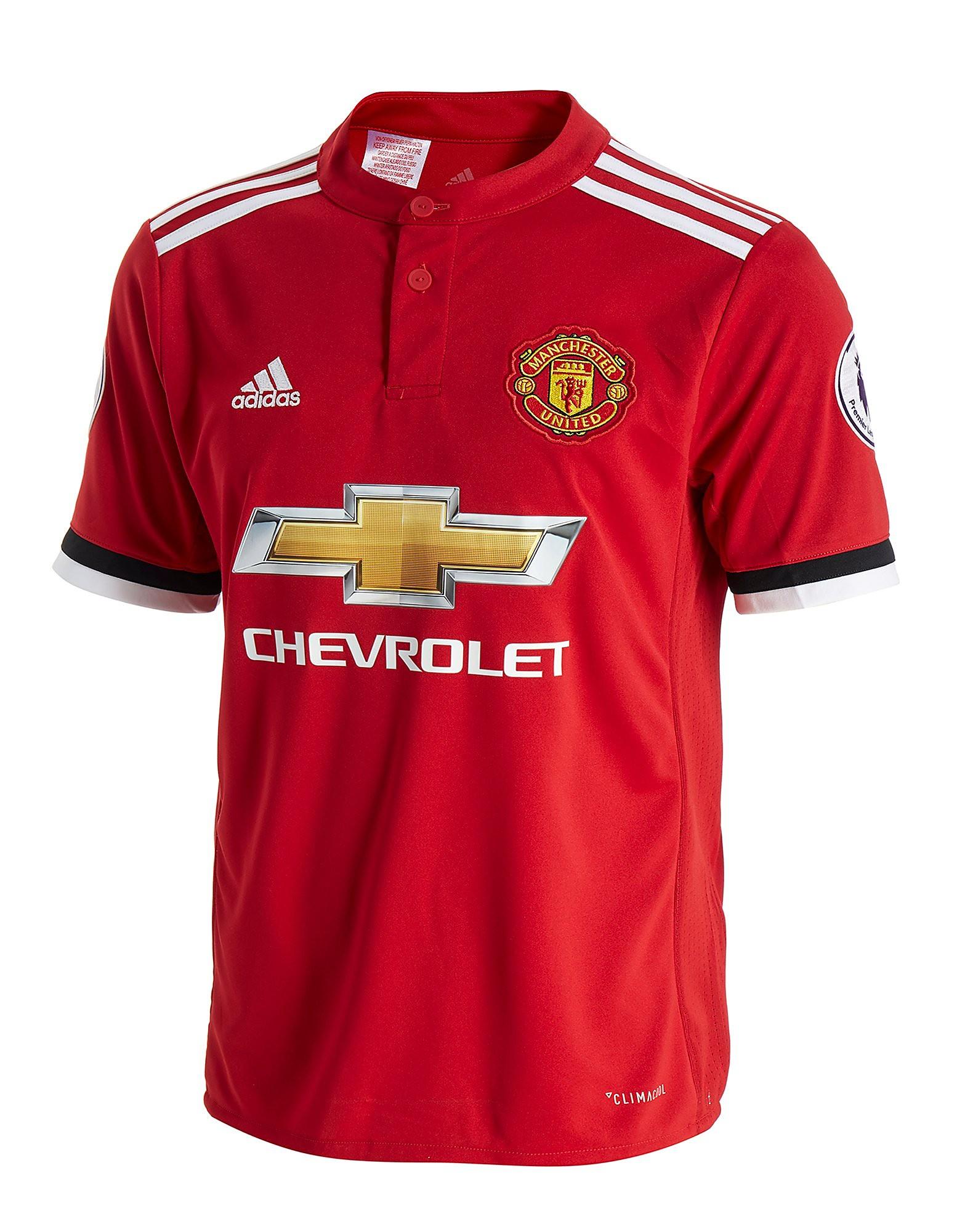 adidas camiseta 1.ª equipación Manchester United Rashford 2017/18 júnior