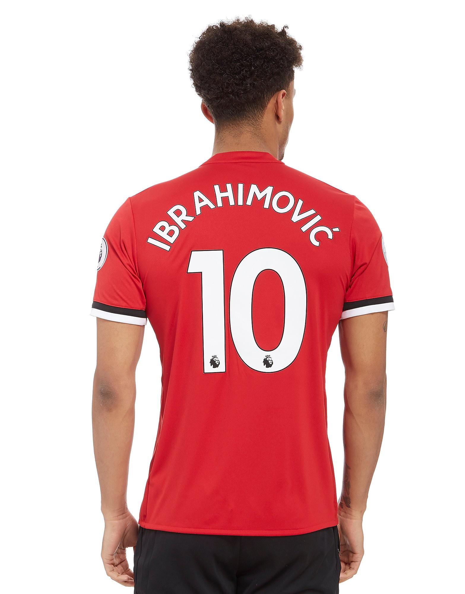 adidas Manchester United Ibrahimovic 2017/18 Home Shirt
