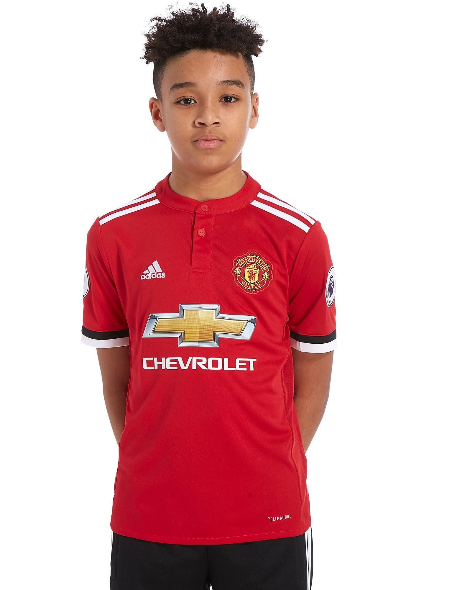 adidas Manchester United Home 2017 Ibra #10 Shirt Junior