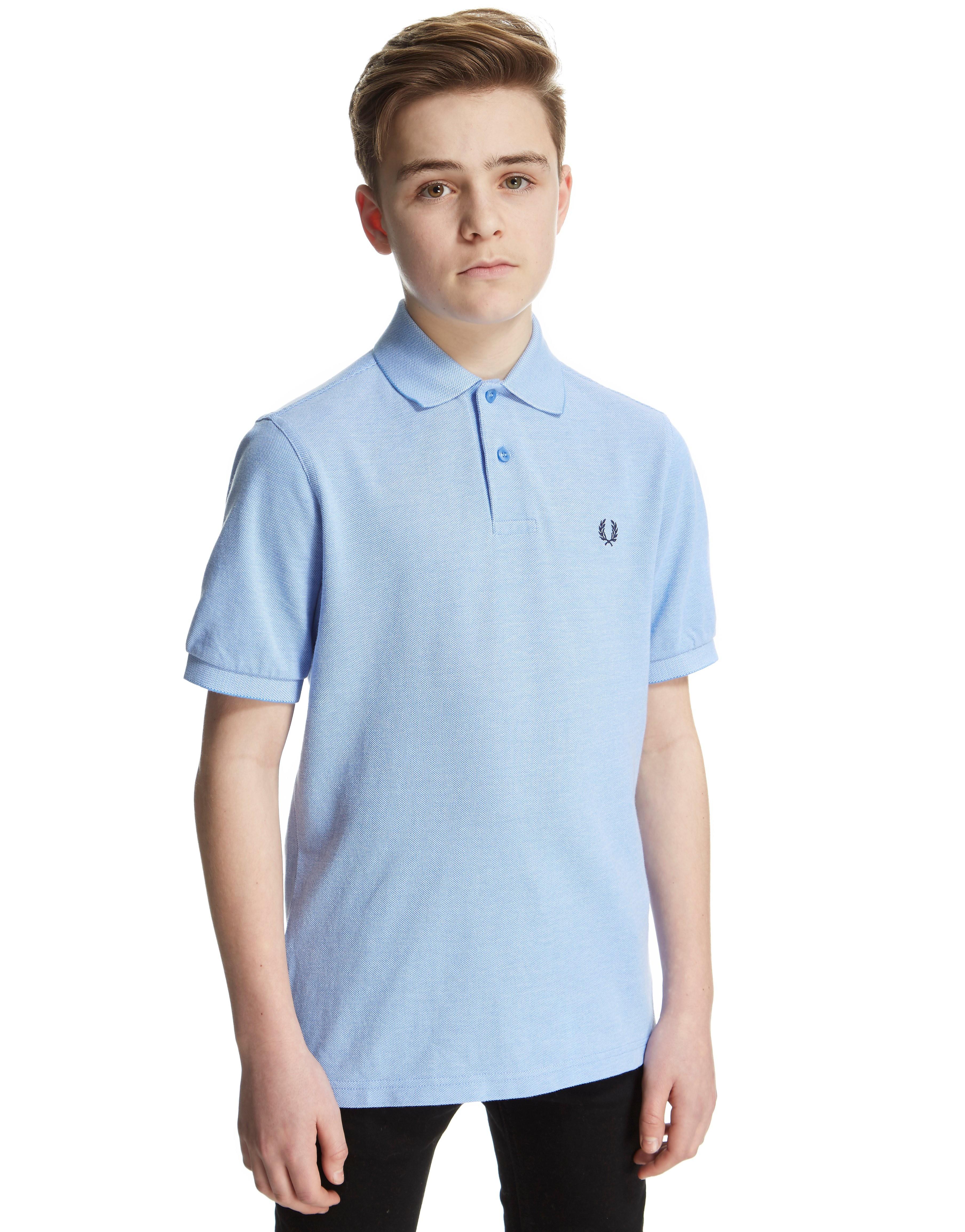 Fred Perry Plain Polo Shirt Junior