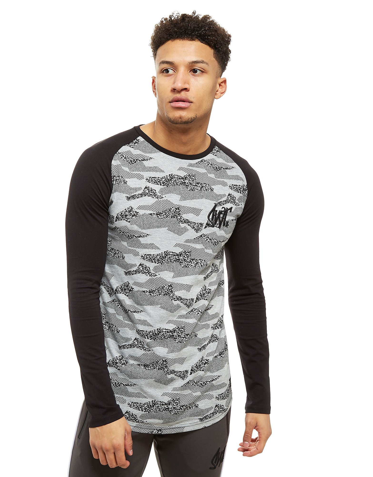 Sonneti Sanka Camo Long Sleeve T-Shirt