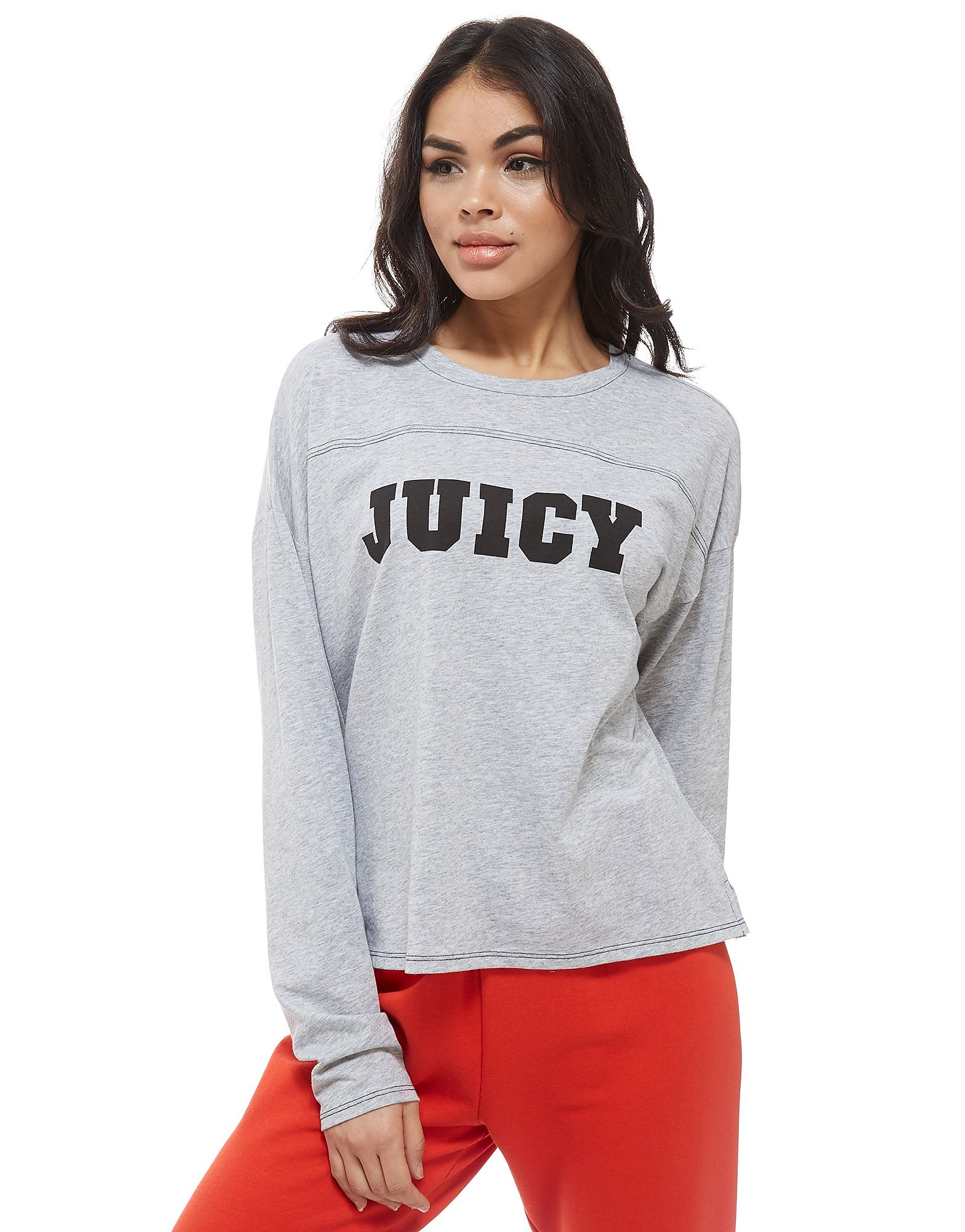 Juicy by Juicy Couture Logo Long Sleeve T-Shirt