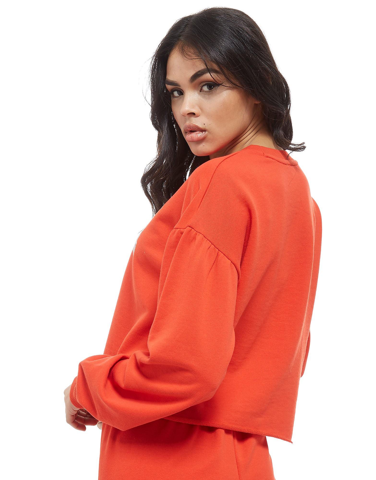 Juicy by Juicy Couture Crop Terry Crew Sweatshirt