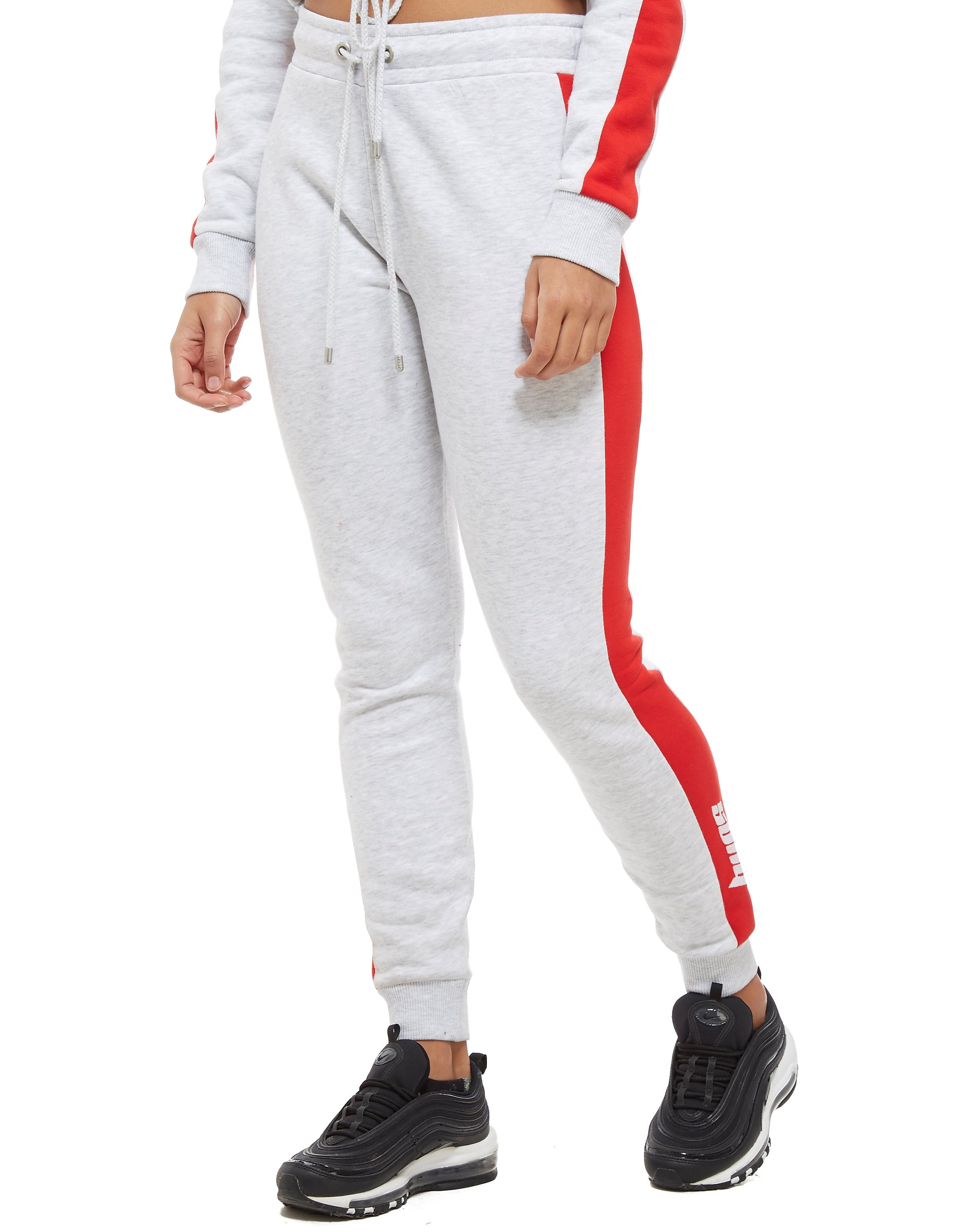 Supply & Demand Contrast Joggers - Light Grey/Red - Dames
