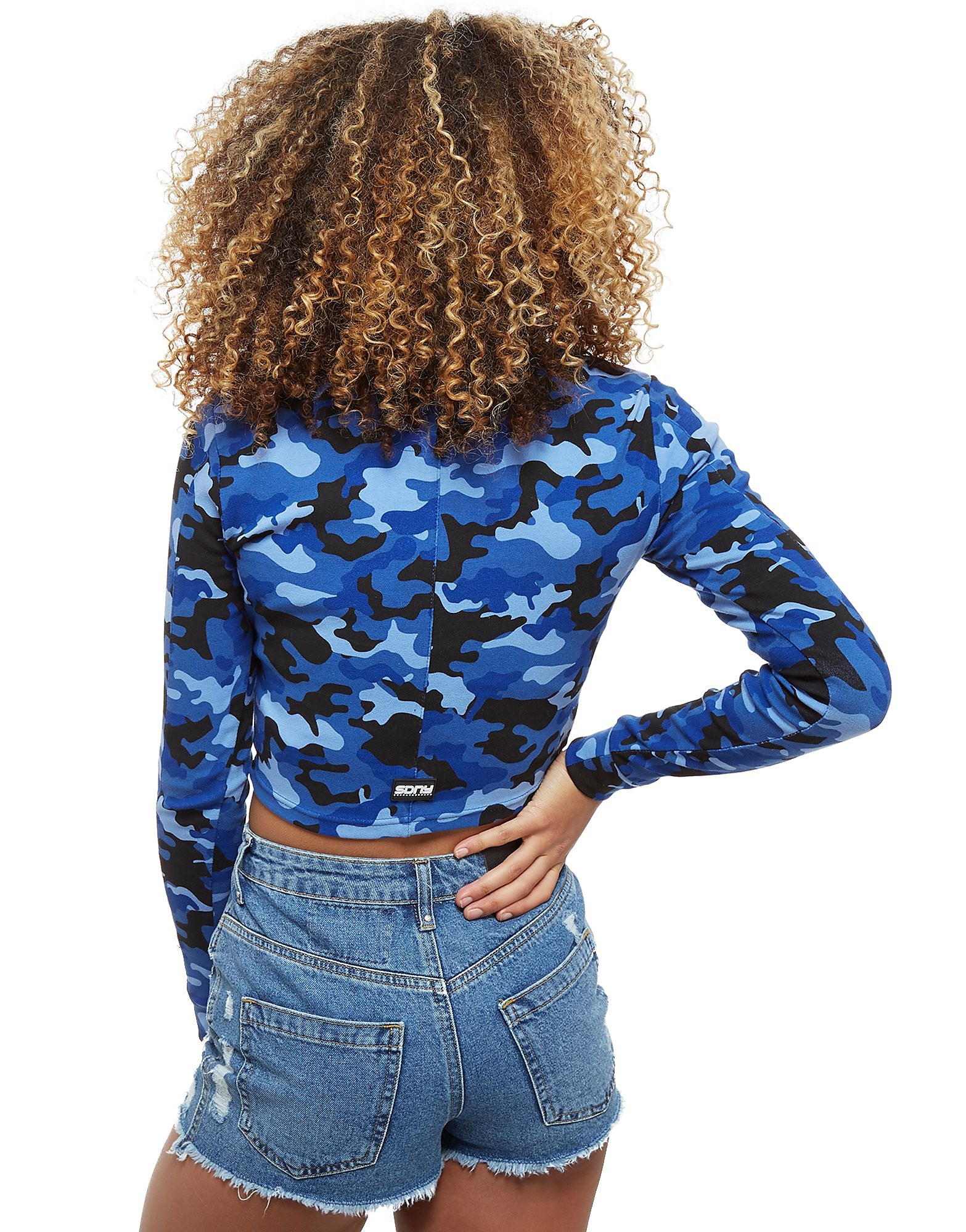 Supply & Demand Camo Crew Long Sleeve T-Shirt