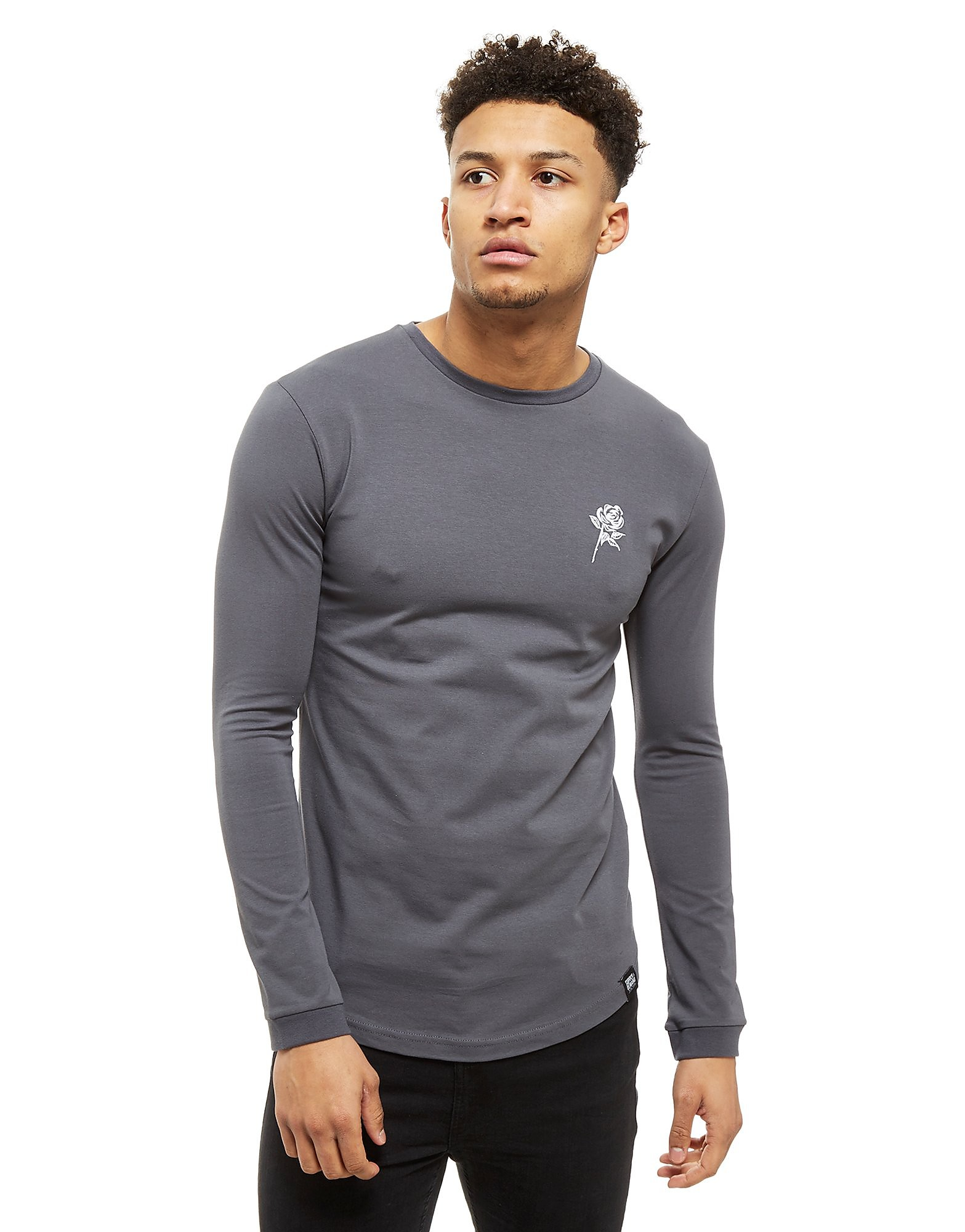 Supply & Demand Reps Long Sleeve T-Shirt - Only at JD, Grey