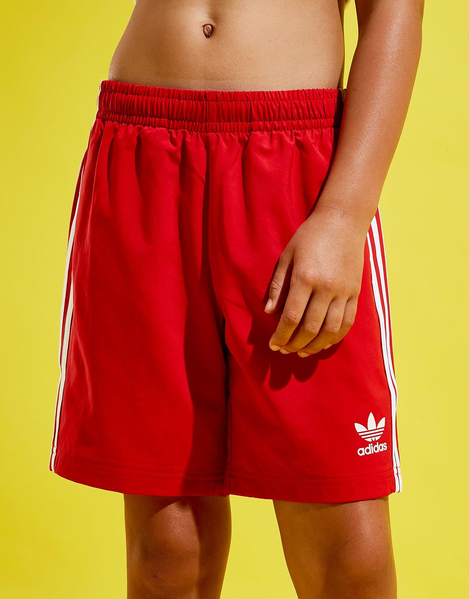 adidas Originals Trefoil Swim Shorts Junior - Rood - Kind