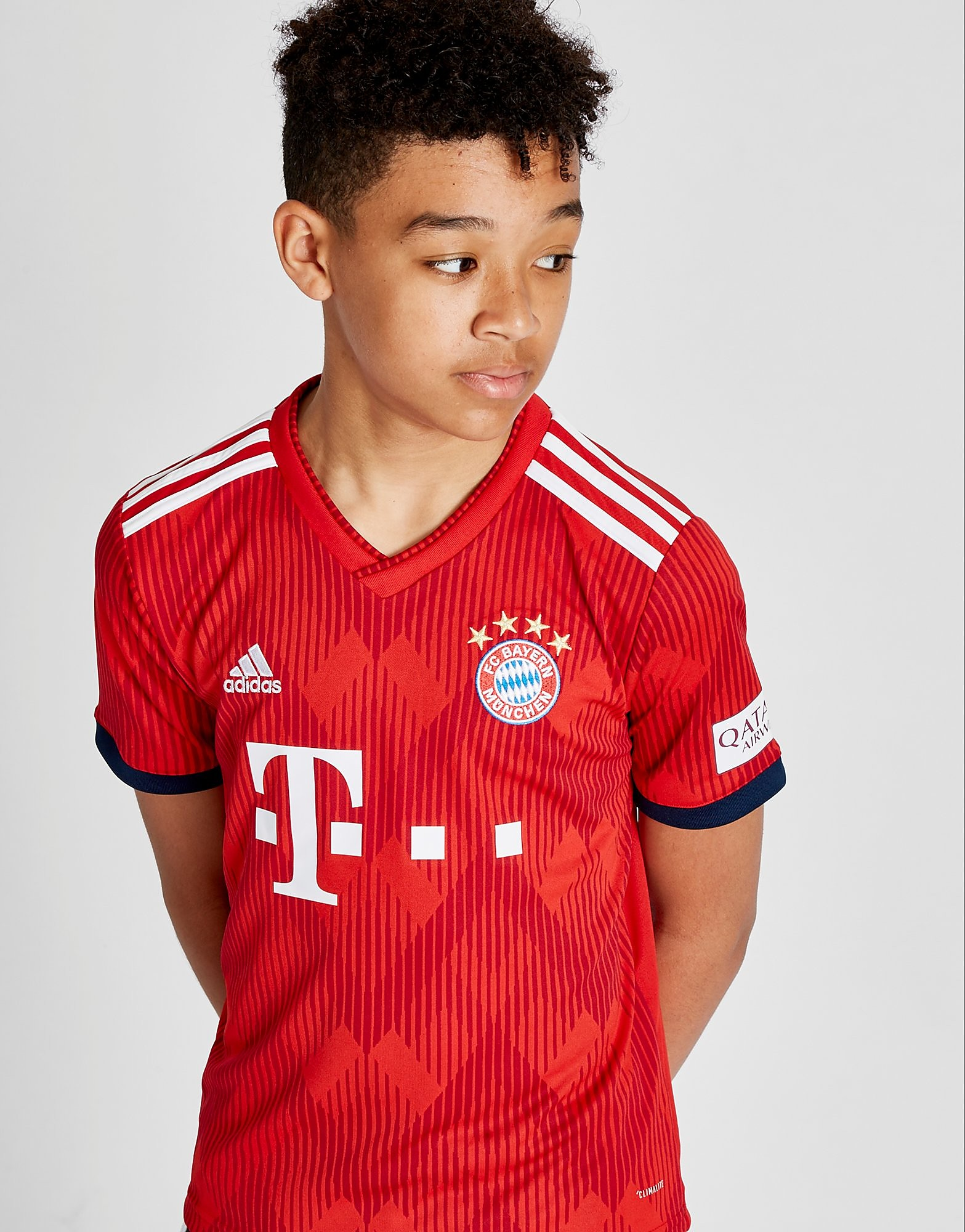 adidas FC Bayern Munich 2018/19 Home Shirt Junior