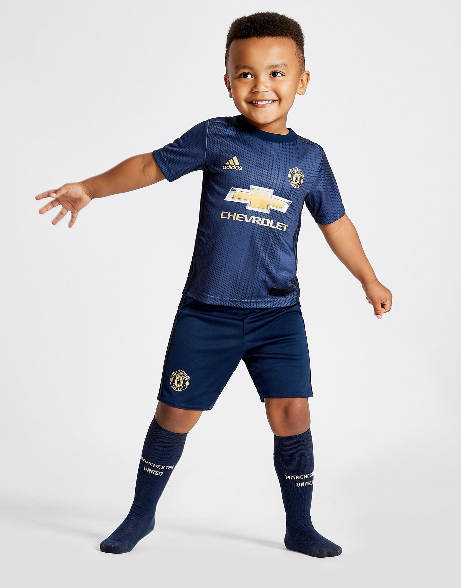adidas Manchester United 2018/19 Third Kit Kinderen - Blauw - Kind