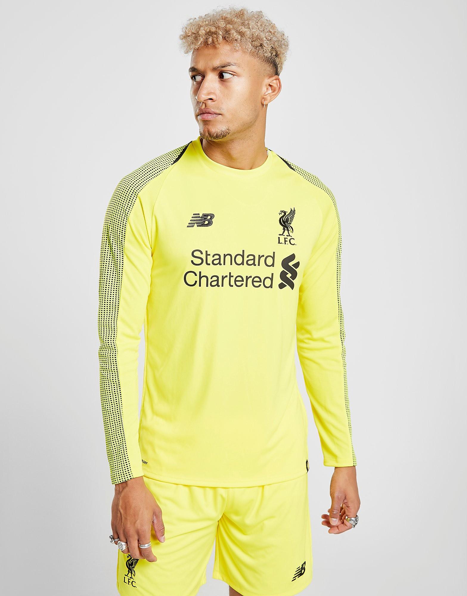 New Balance Liverpool FC 2018 Home Goalkeeper Shorts Heren - Geel - Heren