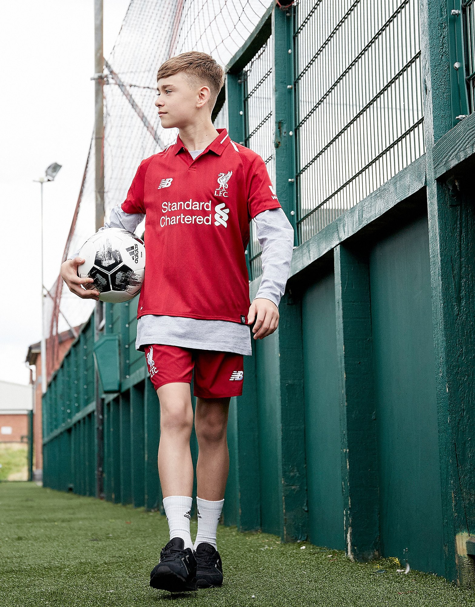 New Balance Liverpool FC 2018 Home Shirt Junior