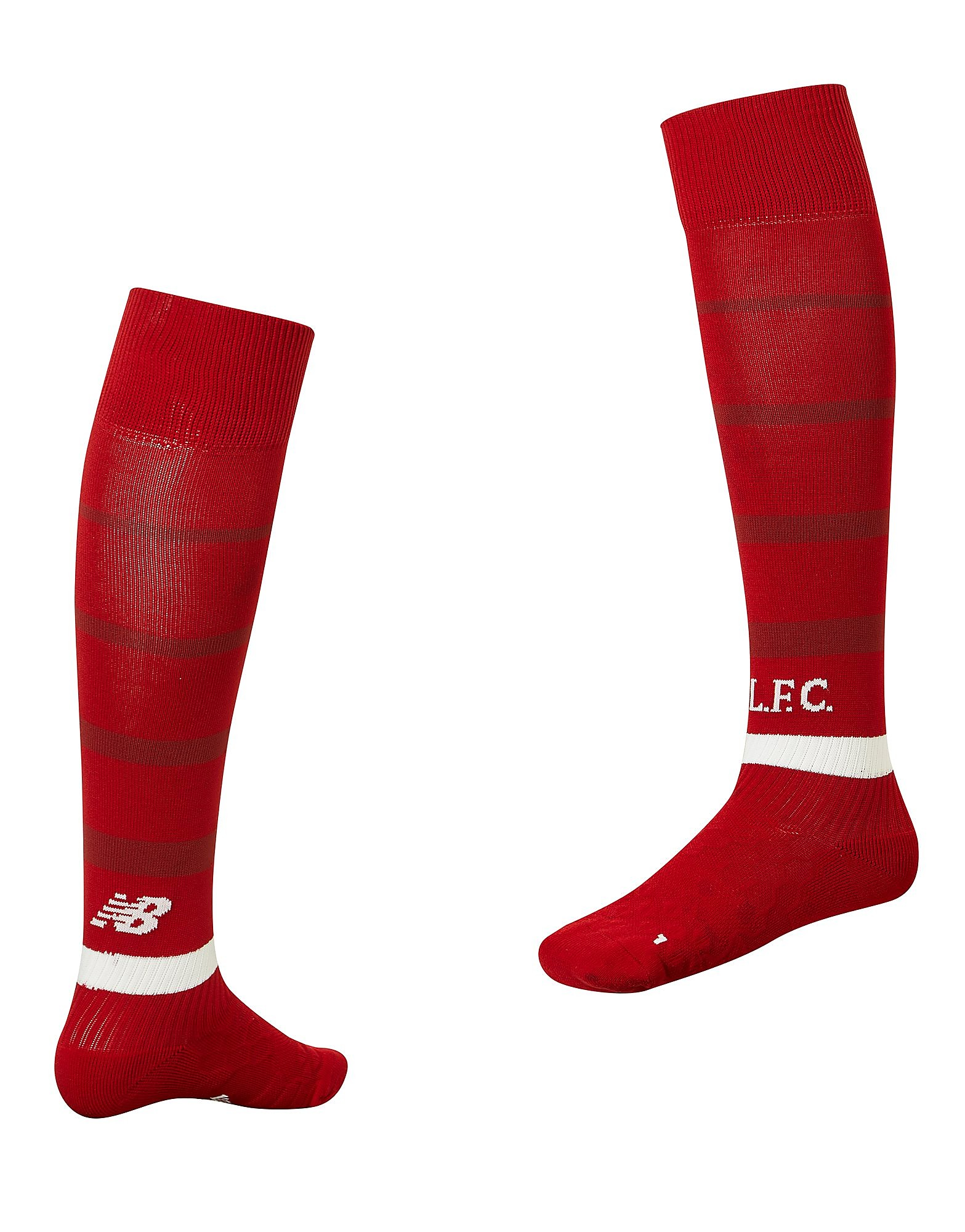 New Balance Liverpool FC 2018 Home Socks Junior - Rood - Kind