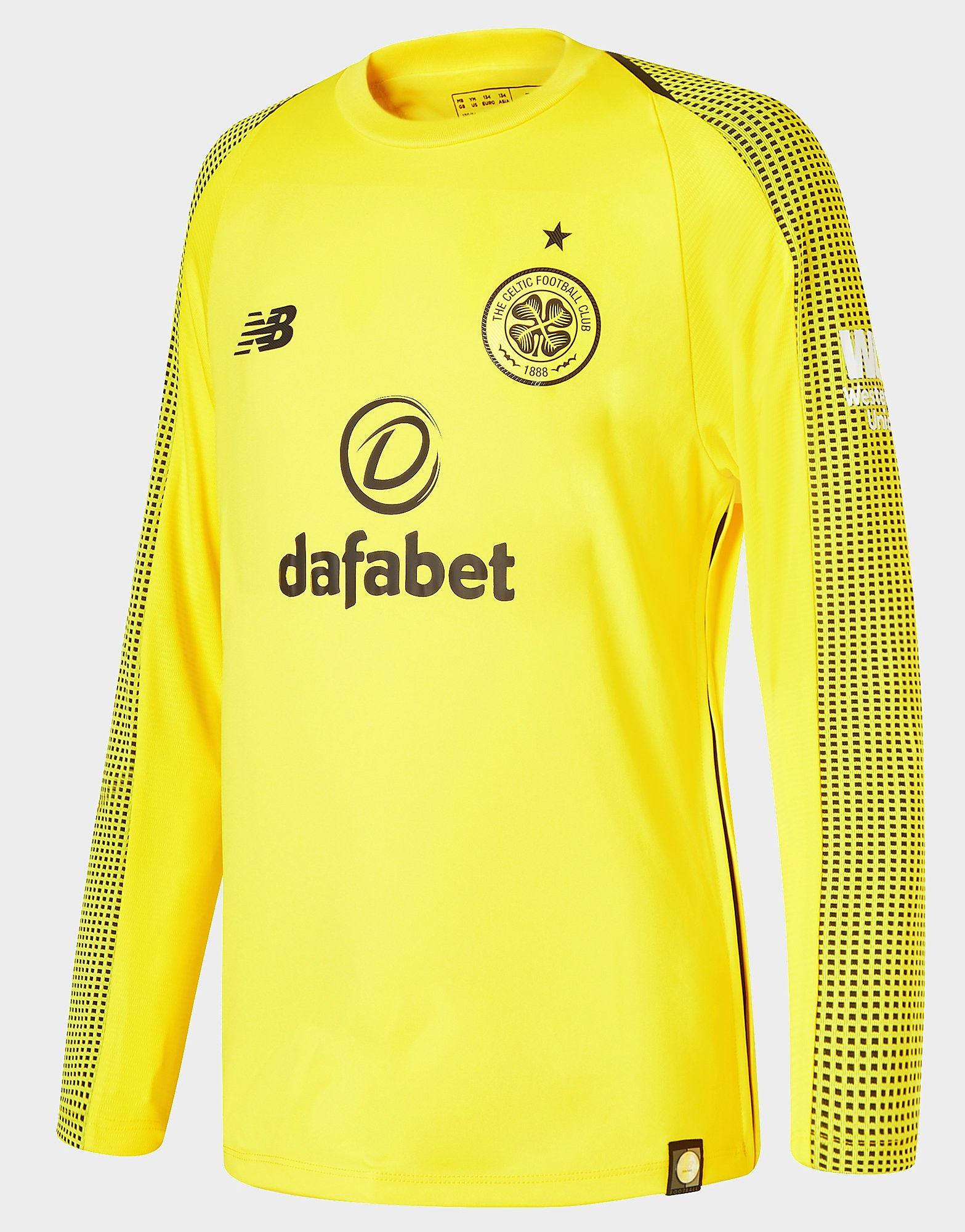 New Balance Celtic FC 2018/19 Home Goalkeeper Shirt