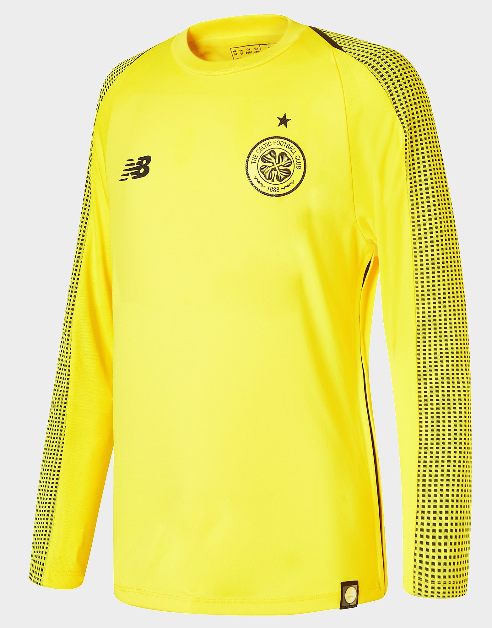 New Balance Celtic 2018/19 Home Goalkeeper Shirt Junior