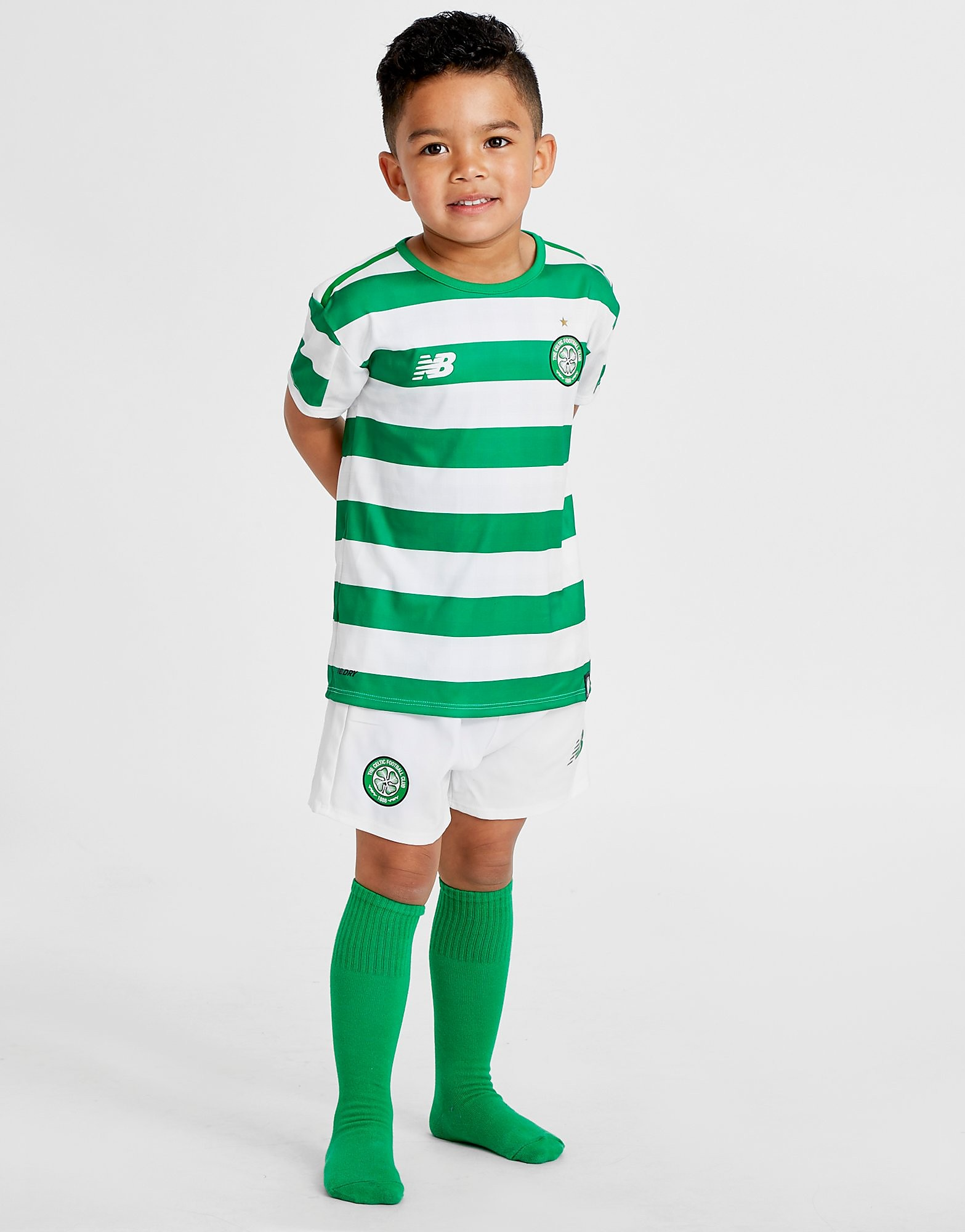 New Balance Celtic FC 2018/19 Home Kit Children