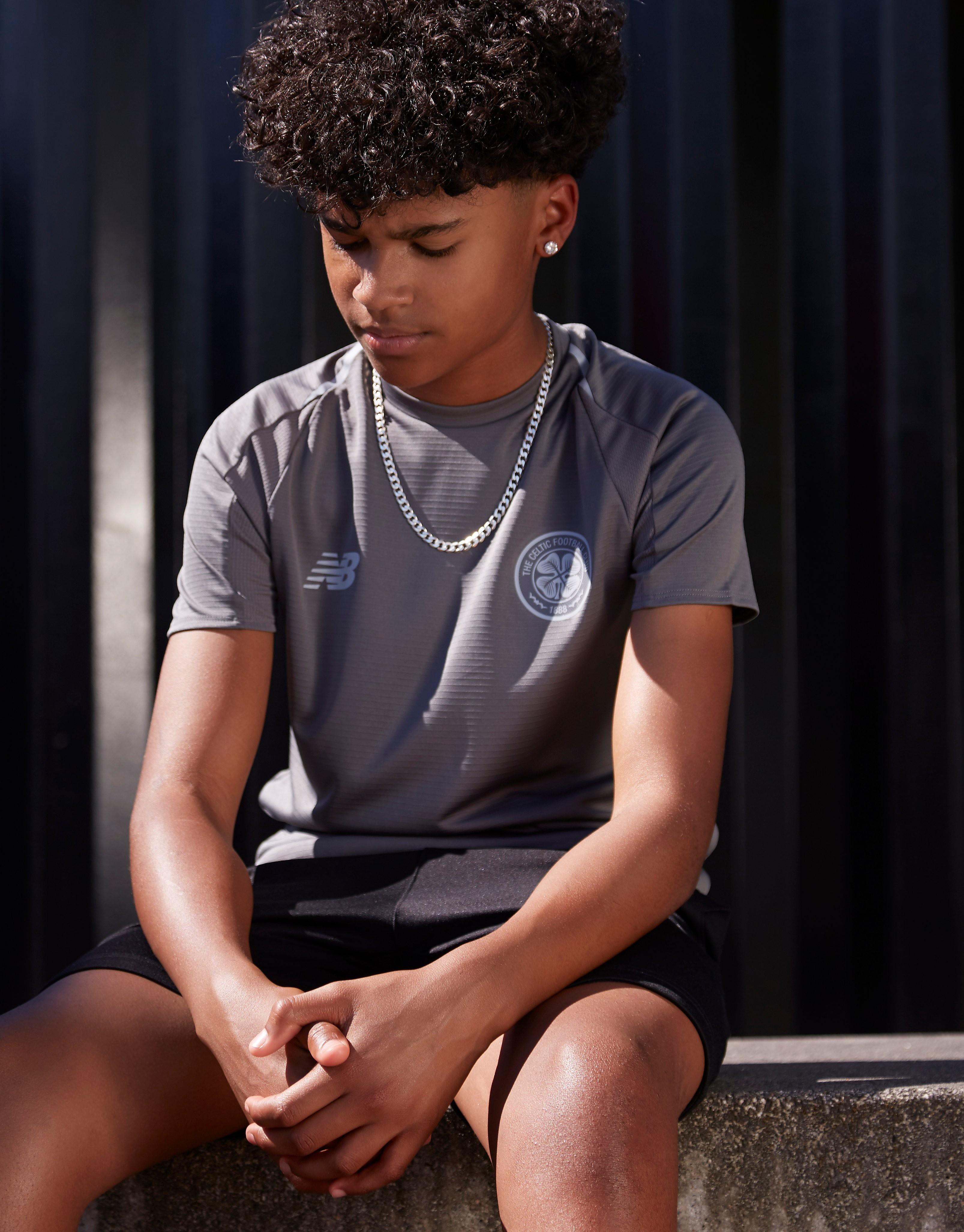 New Balance Celtic FC 2018/19 Training Shirt Junior - Groen - Kind
