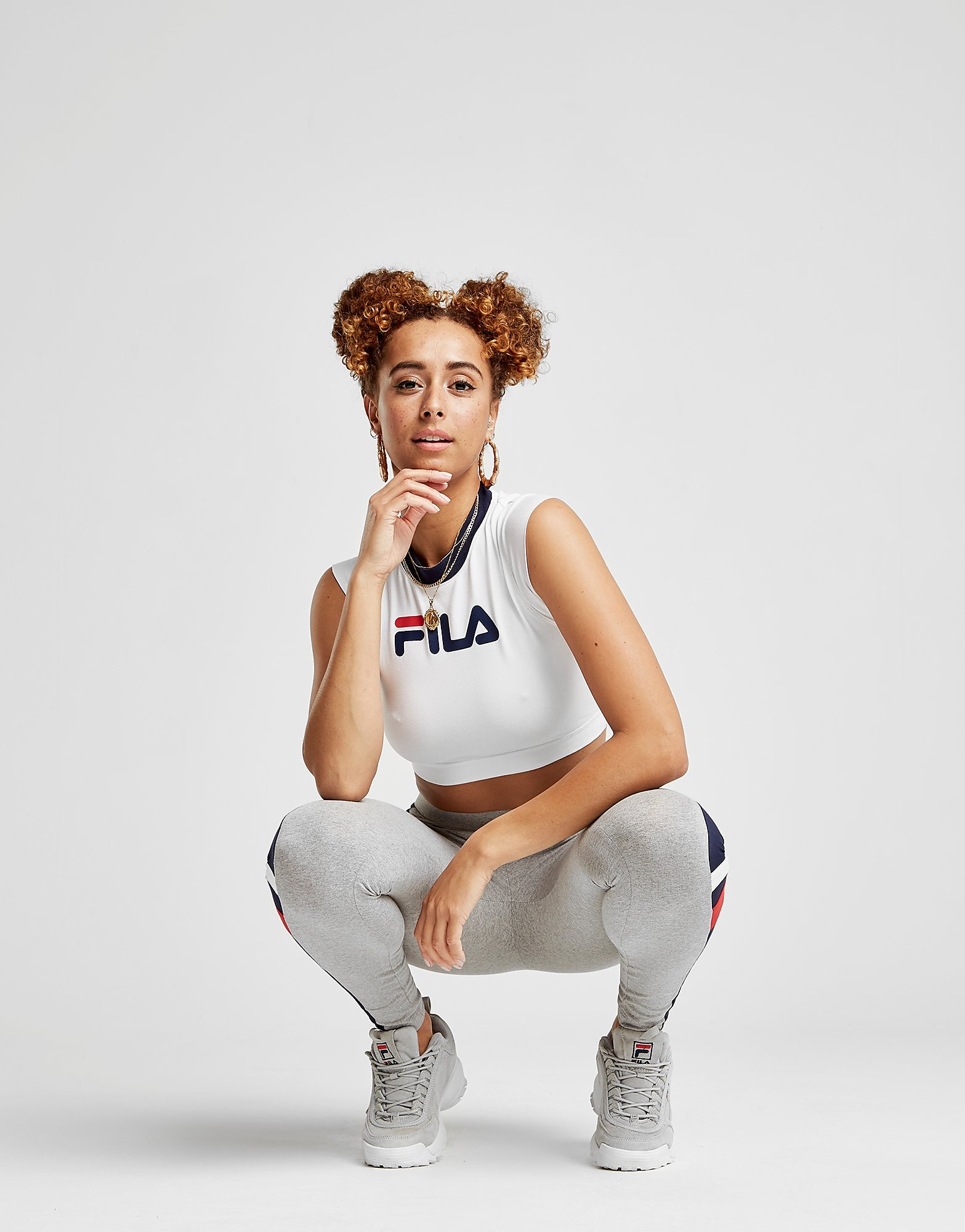 Fila Sleeveless Crop Tank