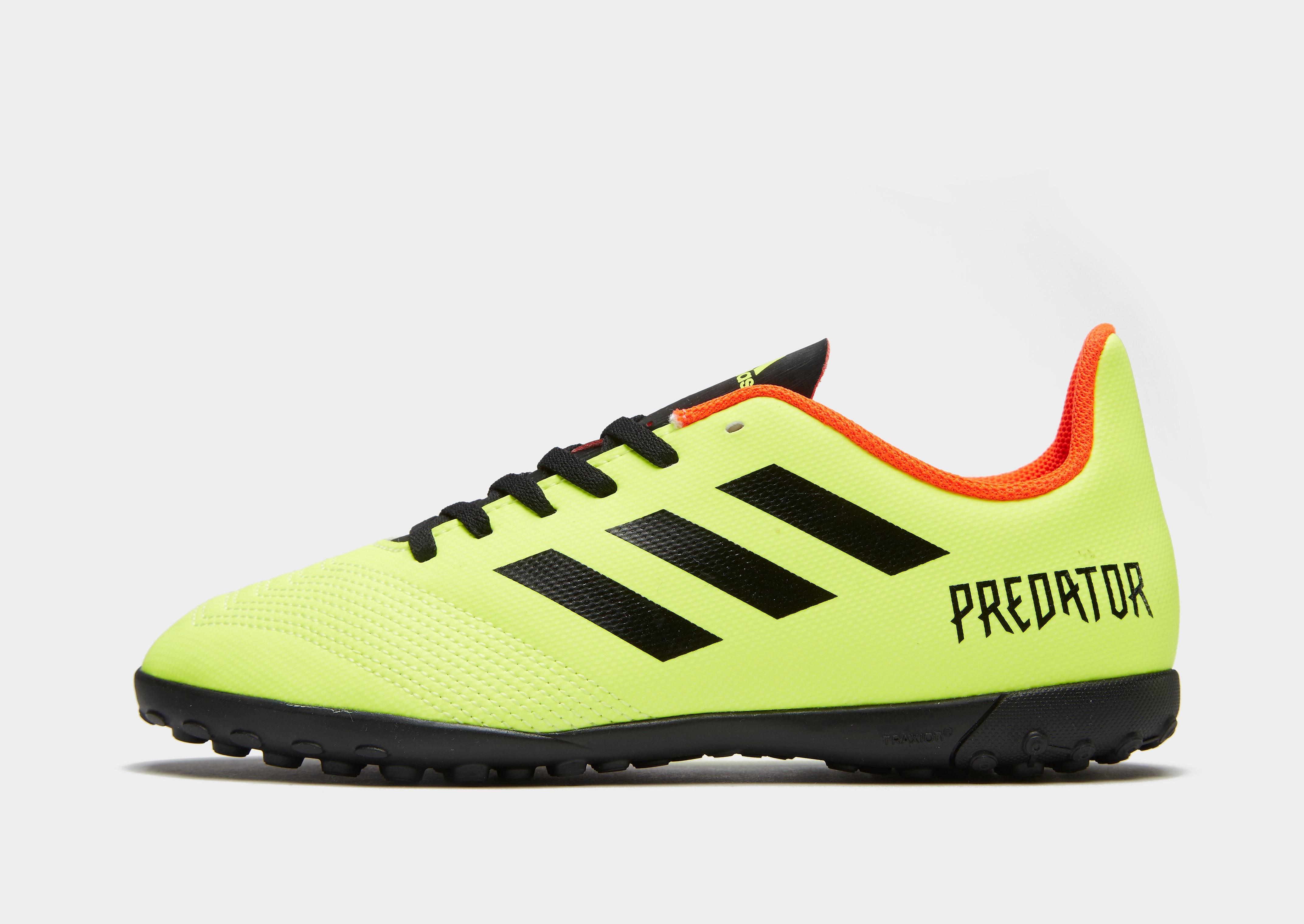 adidas Energy Mode Predator 18.4 TF Junior - Geel - Kind