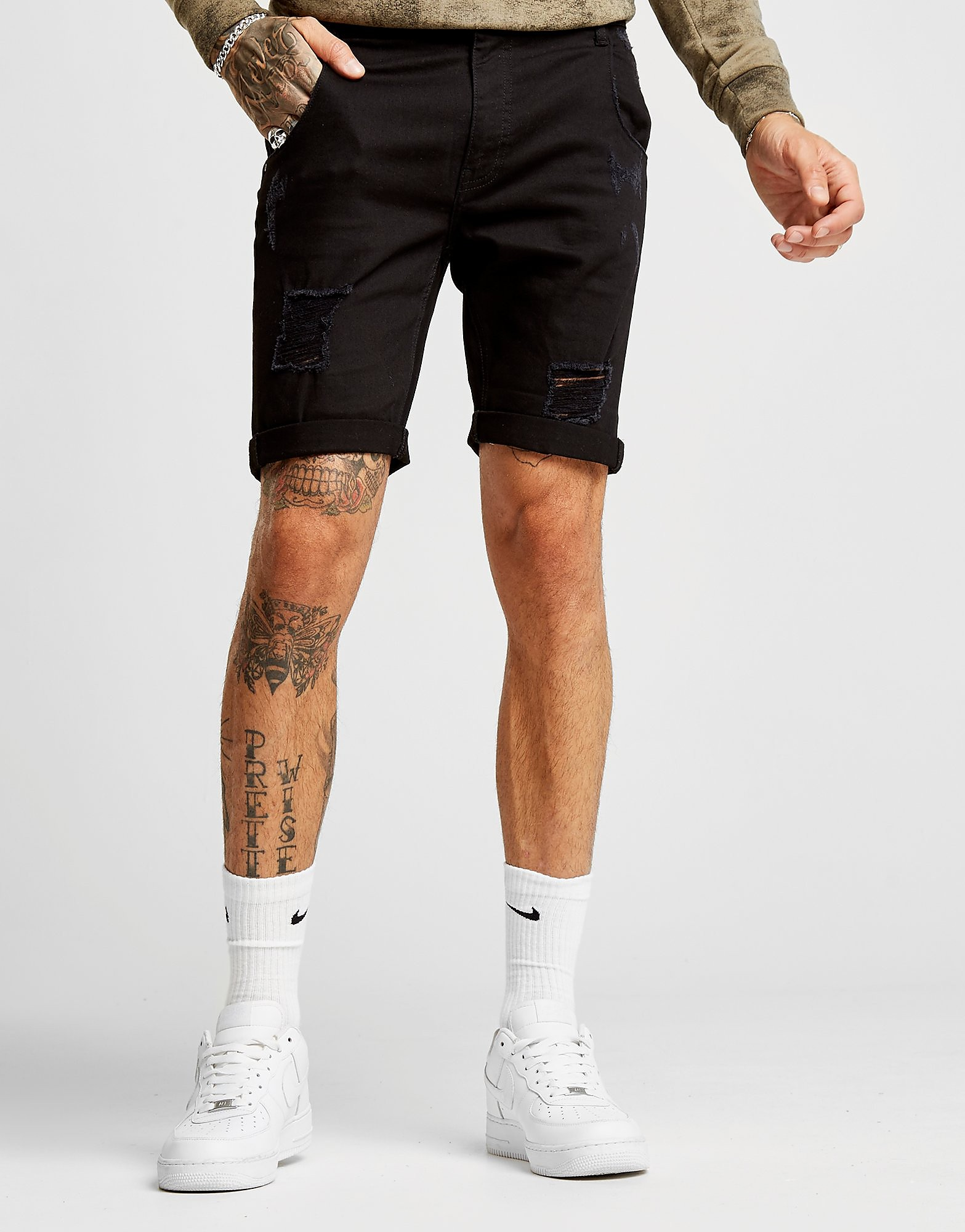 Supply & Demand Benji Denim Shorts