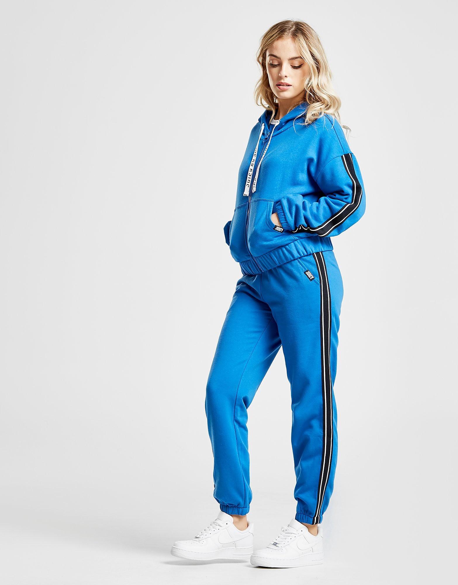 Juicy by Juicy Couture Mesh Stripe Track Pants Dames - Blauw - Dames