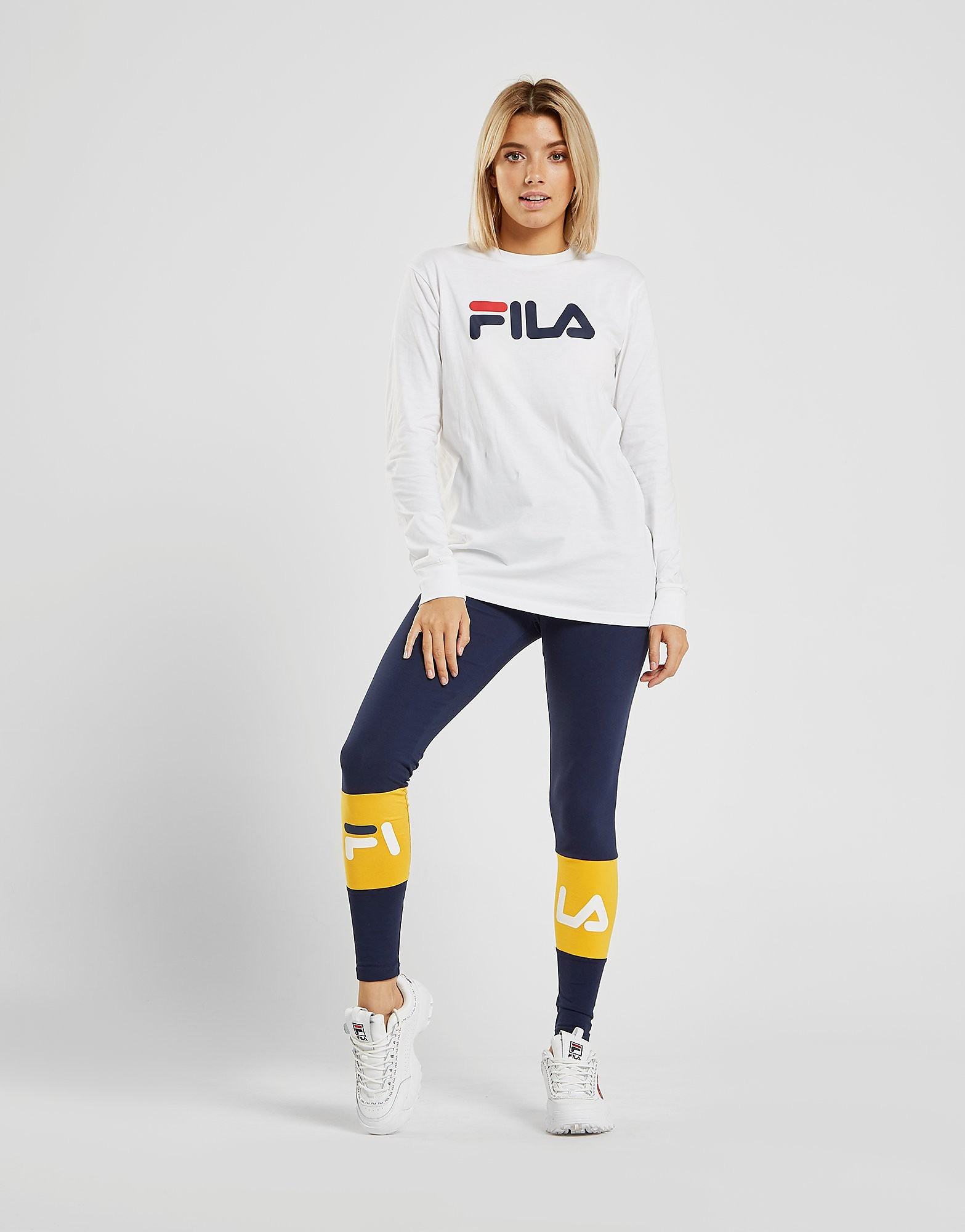 Fila Long Sleeve Boyfriend T-Shirt