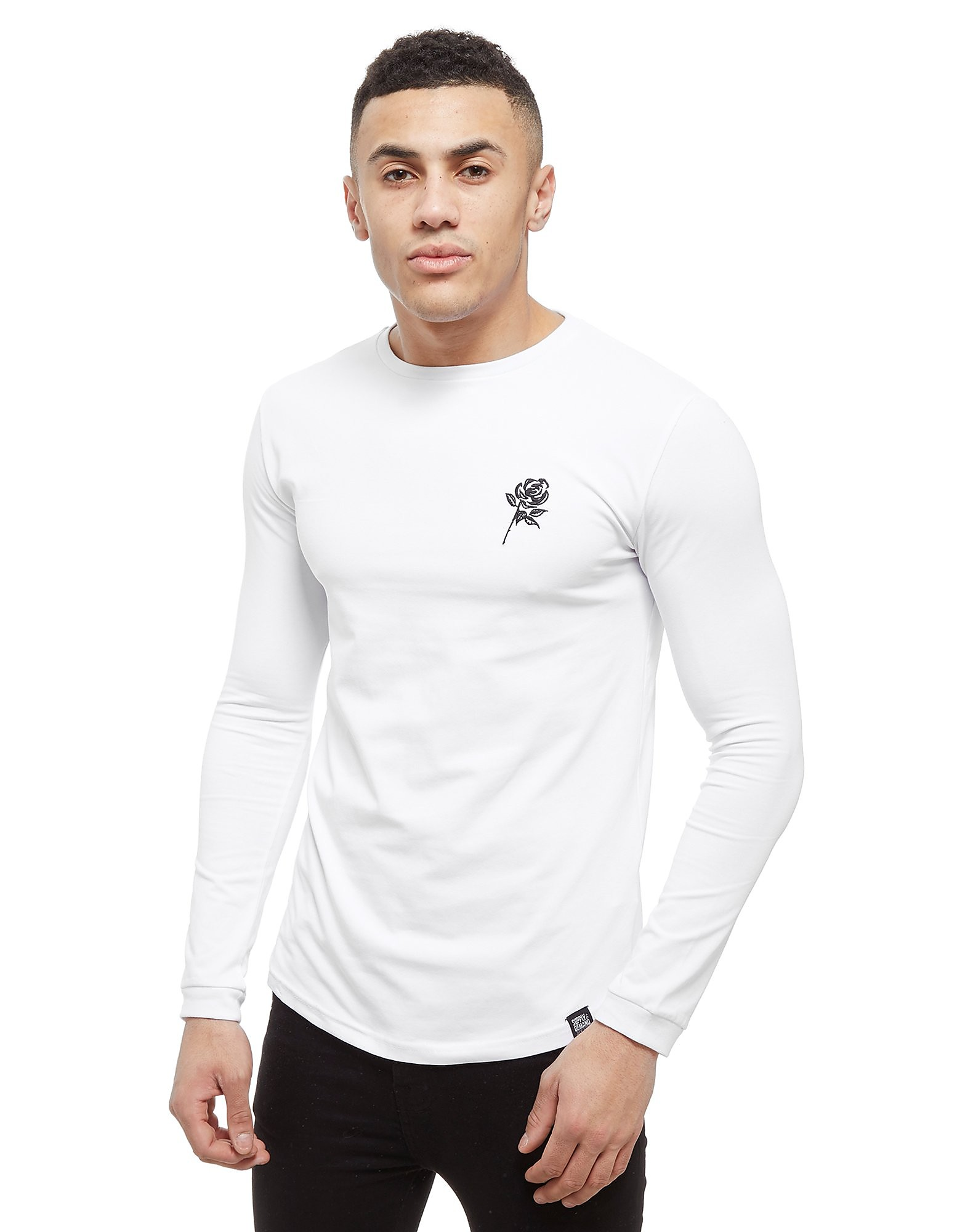 Supply & Demand Reps Long Sleeve T-Shirt - Only at JD, White