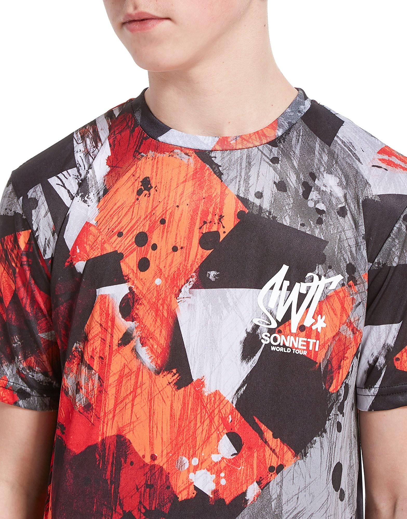 Sonneti Stroke Camo T-Shirt Junior