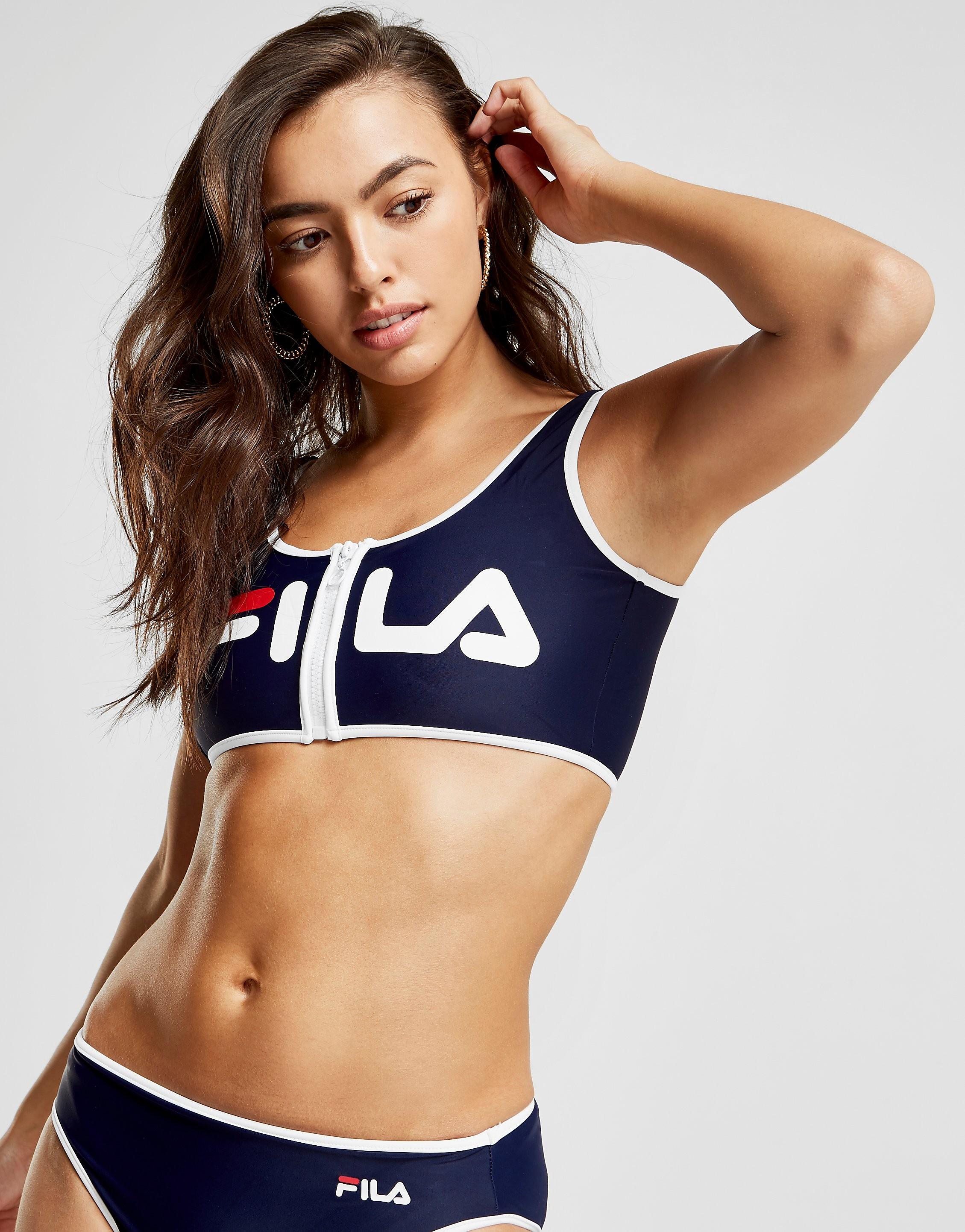 Fila Haut de maillot de bain Zip Bikini Femme