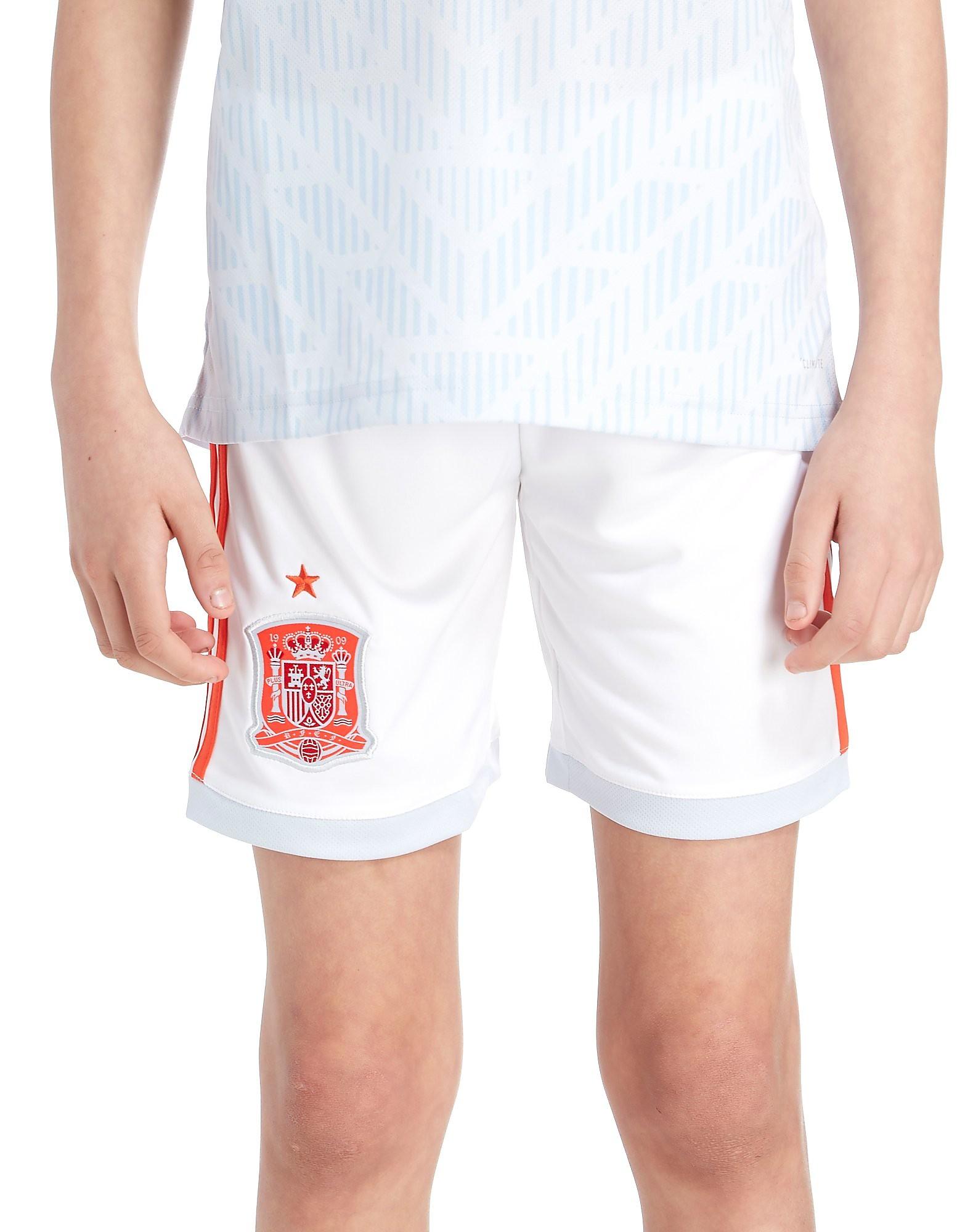 adidas pantalón España 2018 2.ª equipación júnior