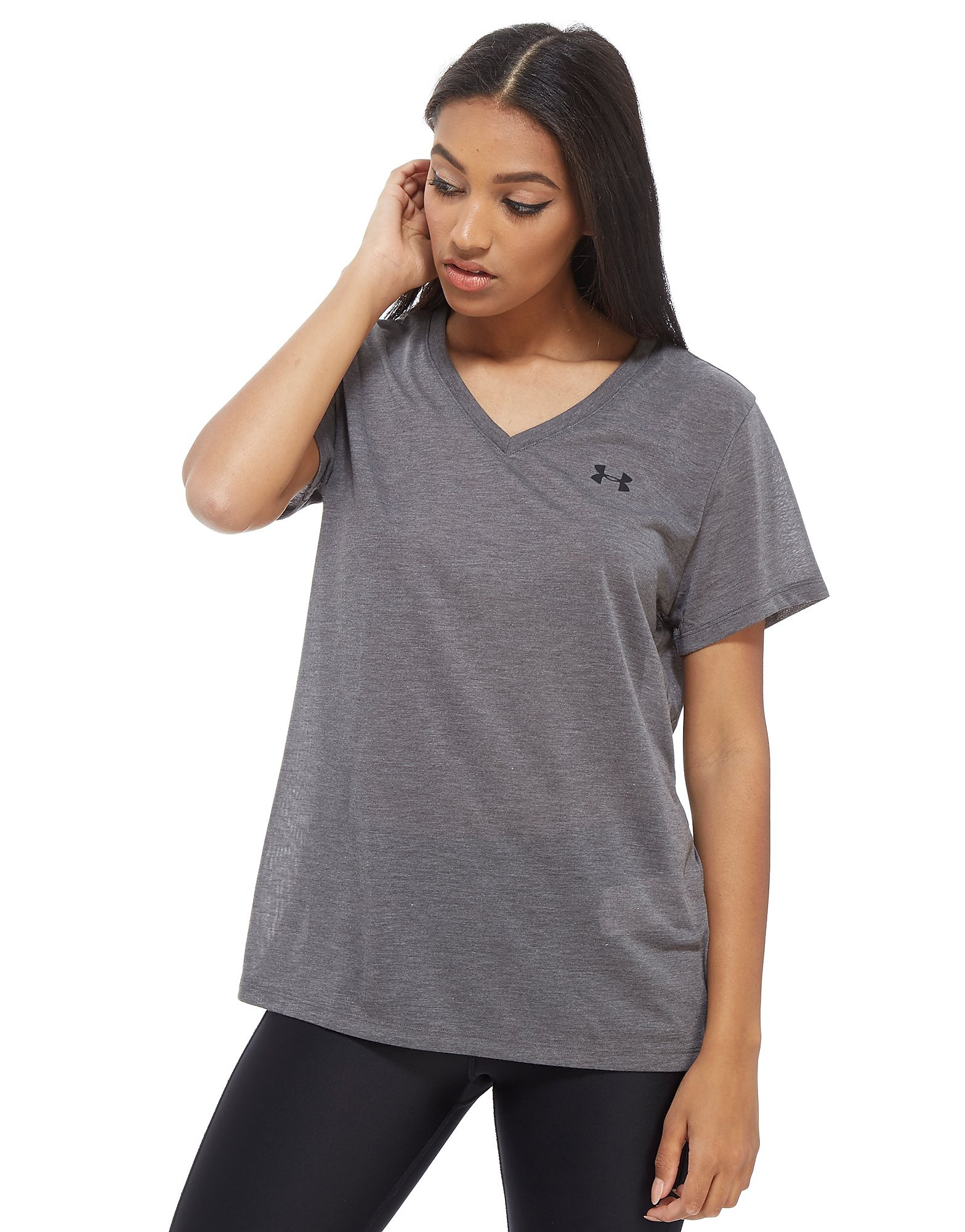 Under Armour Threadborne T-Shirt - Grijs - Dames