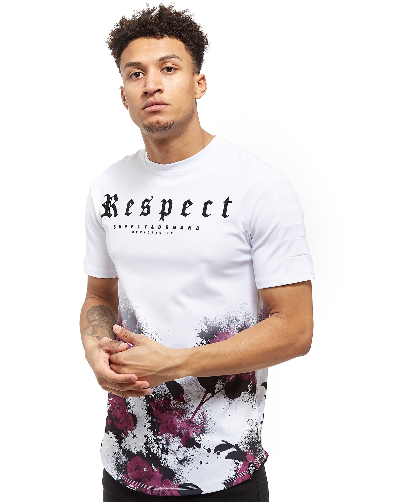 Supply & Demand Frosted Foliage T-Shirt - Only at JD, White