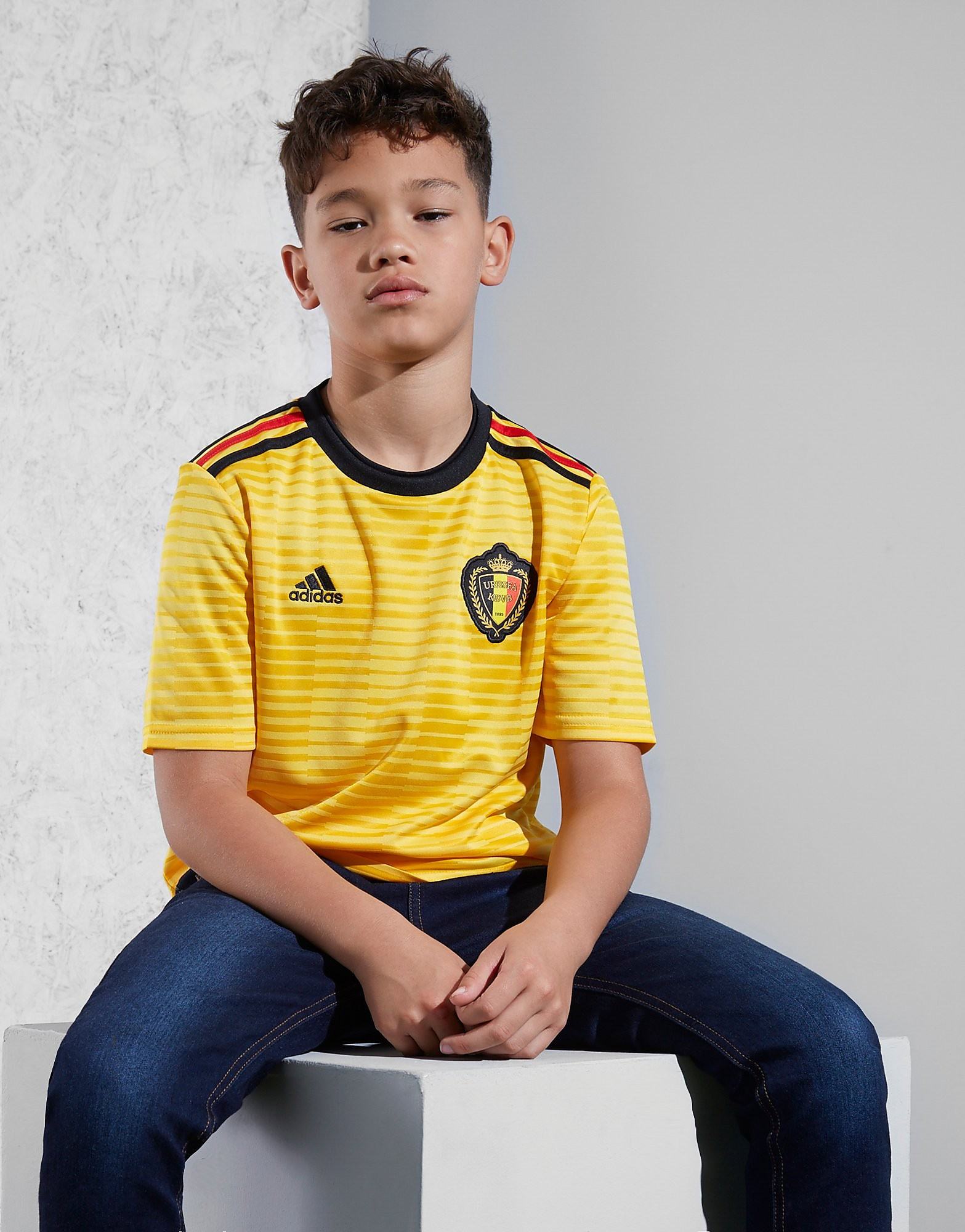 adidas Belgium 2018 Away Shirt Junior