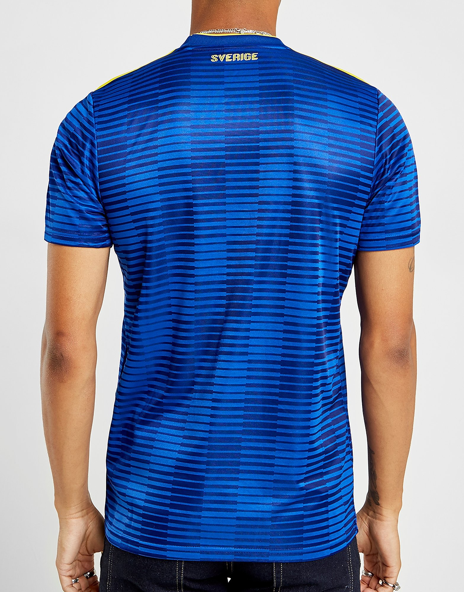 adidas camiseta Suecia 2018 2.ª equipación