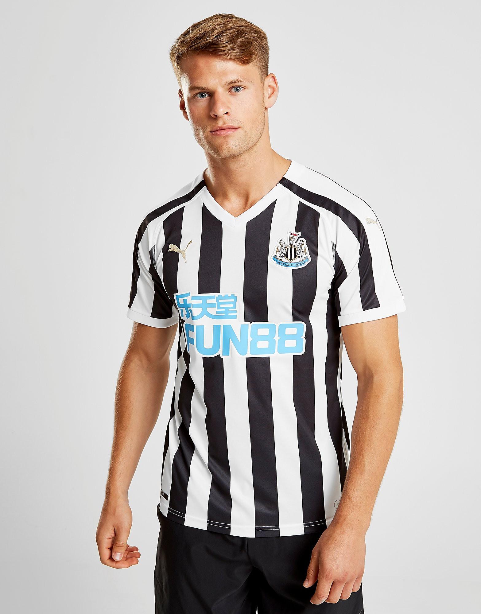 PUMA Newcastle United FC 2018/19 Home Shirt - Zwart - Heren