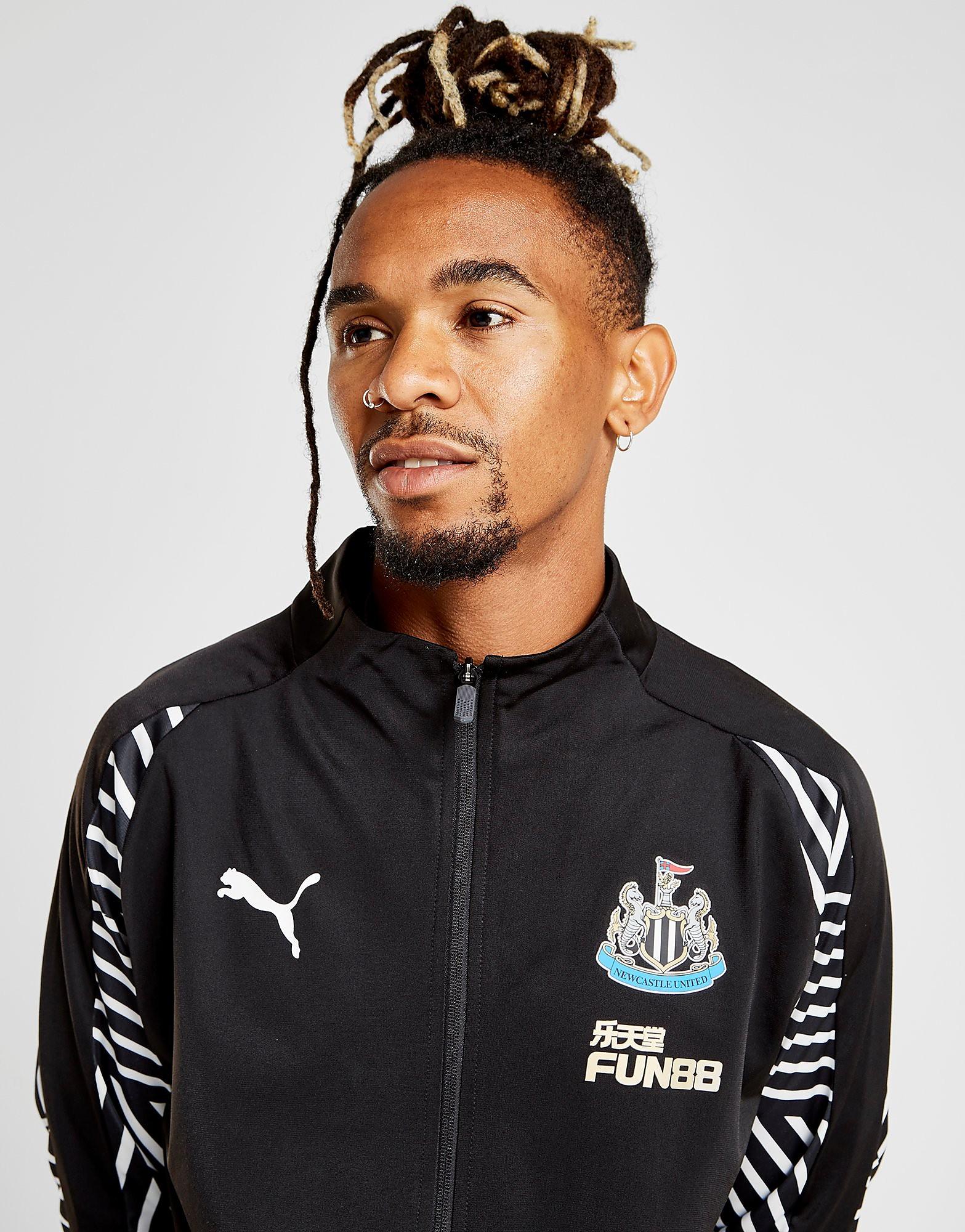 PUMA Newcastle United FC Walk Out Jacket Heren - Zwart - Heren