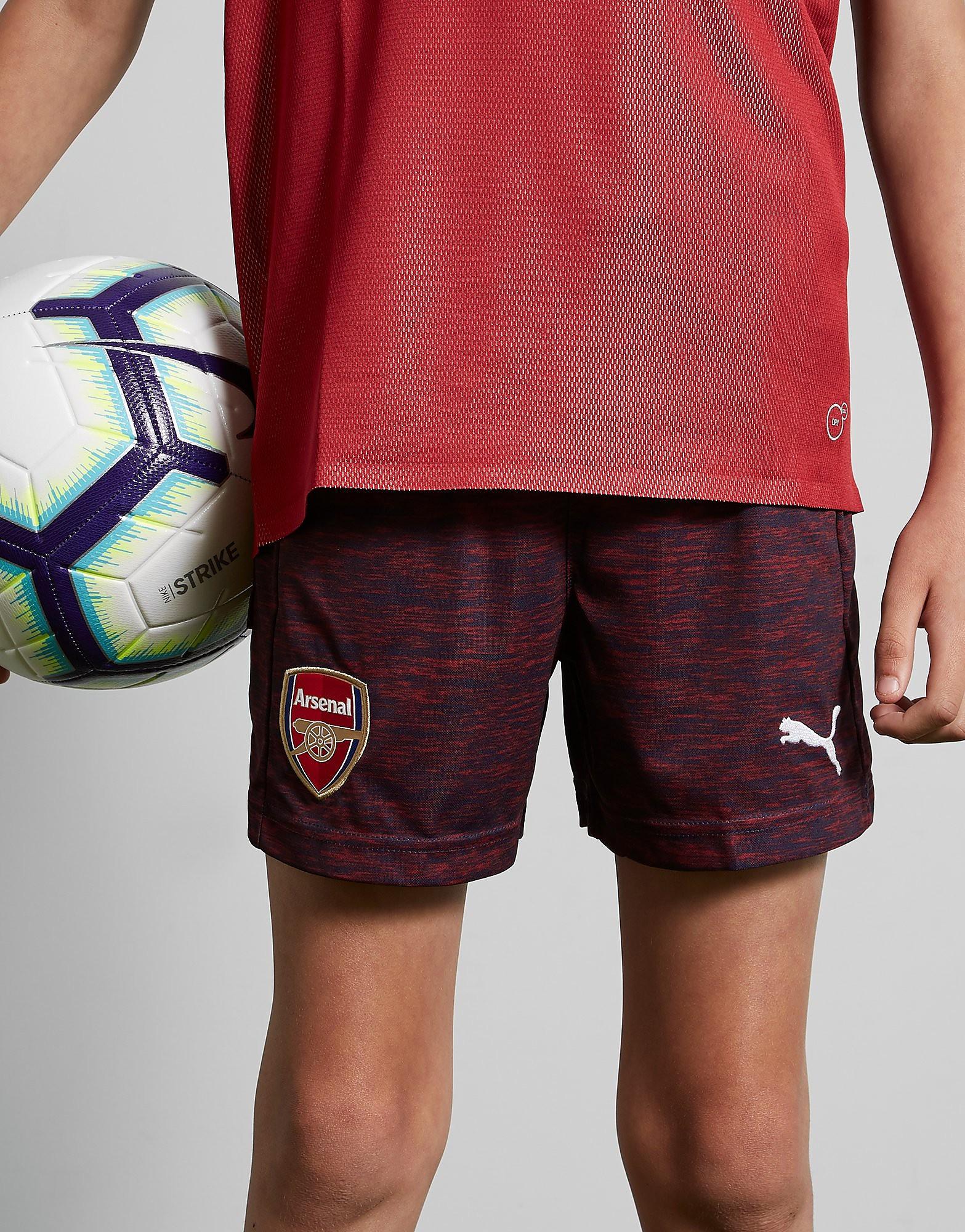 PUMA Arsenal FC 2018/19 Away Shorts Junior - Blauw - Kind