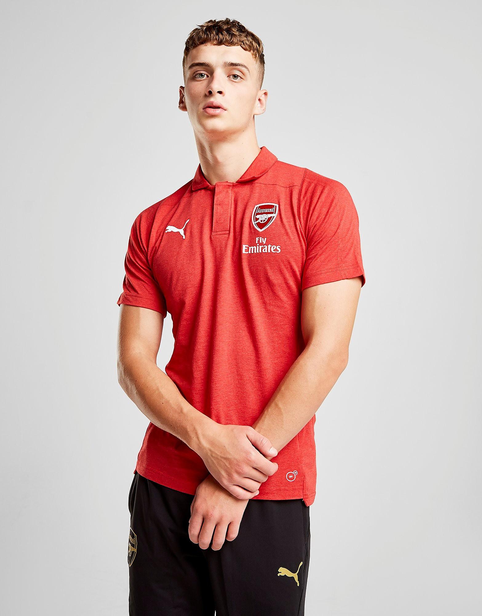 PUMA Arsenal FC Performance Polo Shirt Heren - Rood - Heren