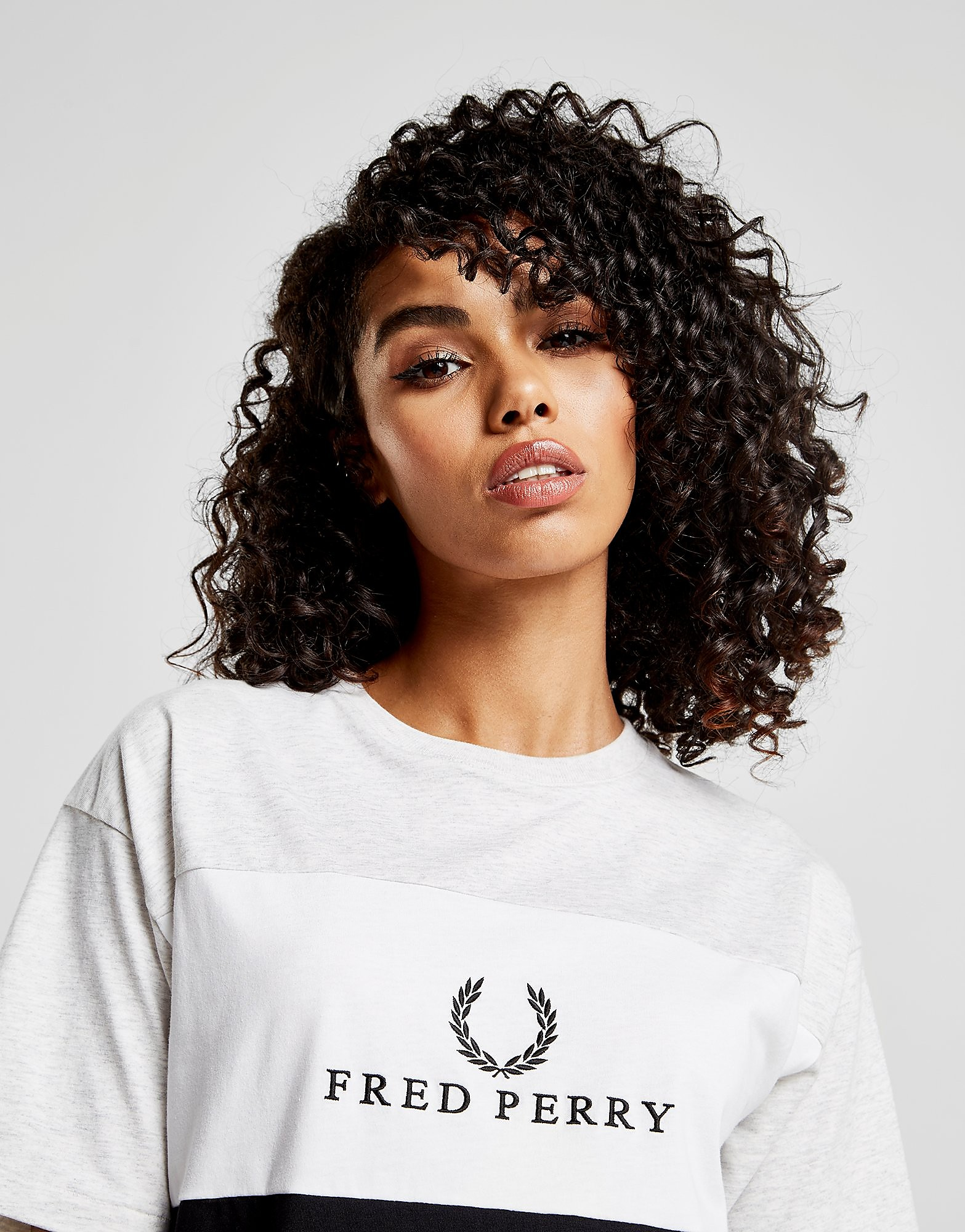 Fred Perry Panel Logo T-Shirt Dress