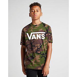 5c6f05b816 Vans All Over Print Camo T-Shirt Junior ...