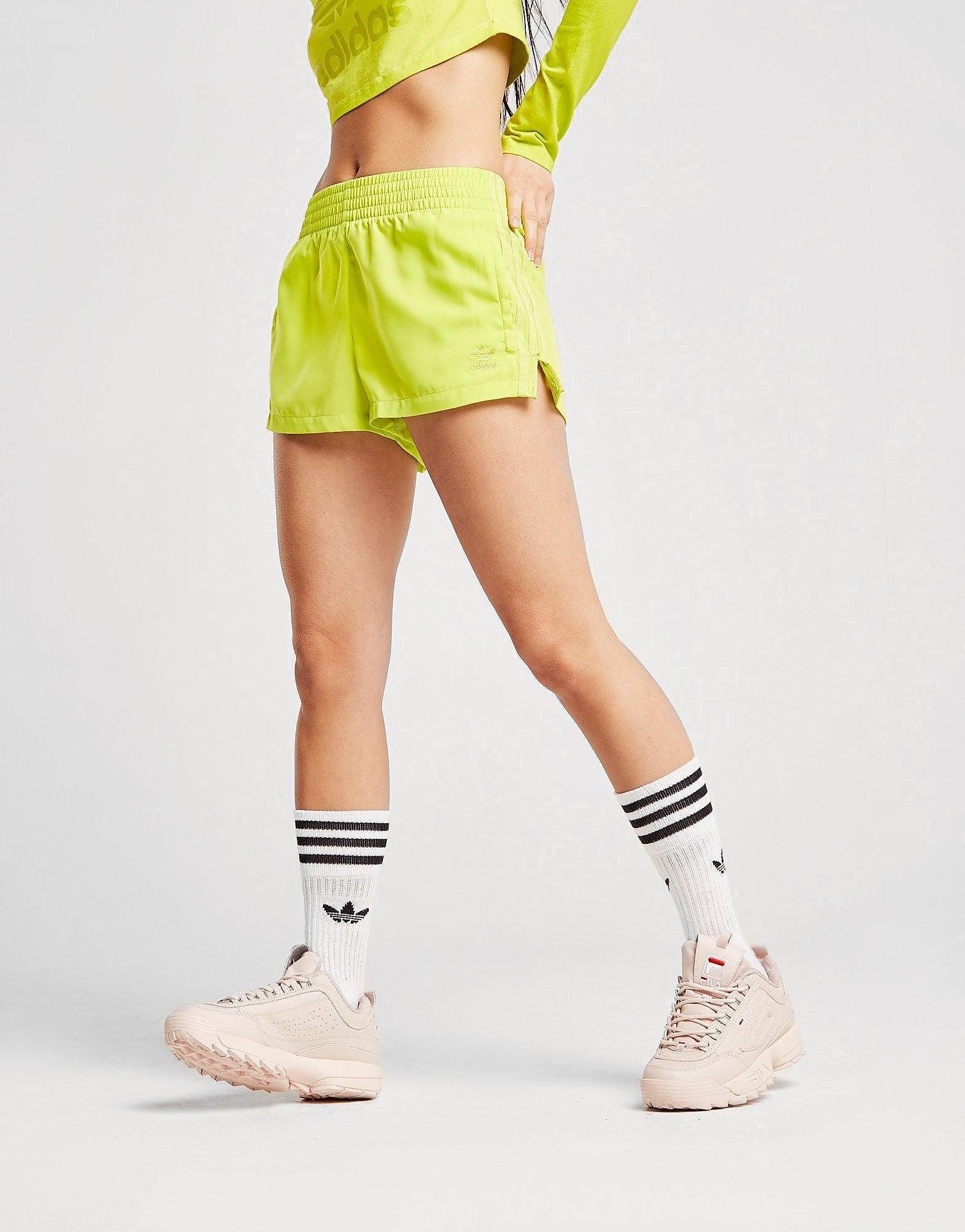 adidas Originals Washed High Waist Shorts