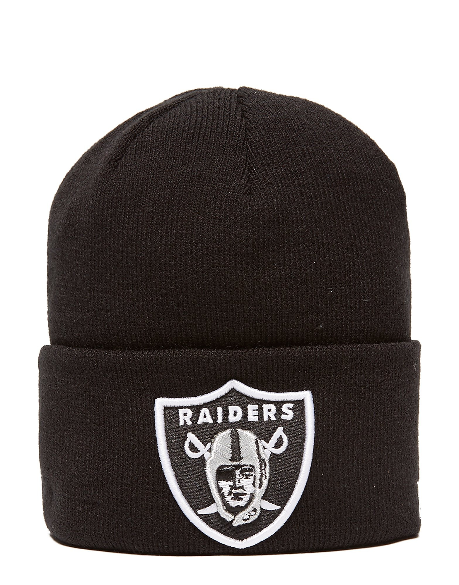 New Era Raiders Over Cuff Beanie Homme