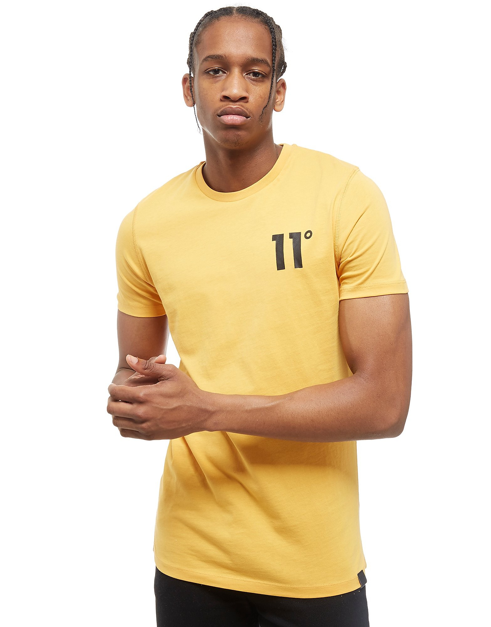 11 Degrees Core T-Shirt Homme - jaune, jaune