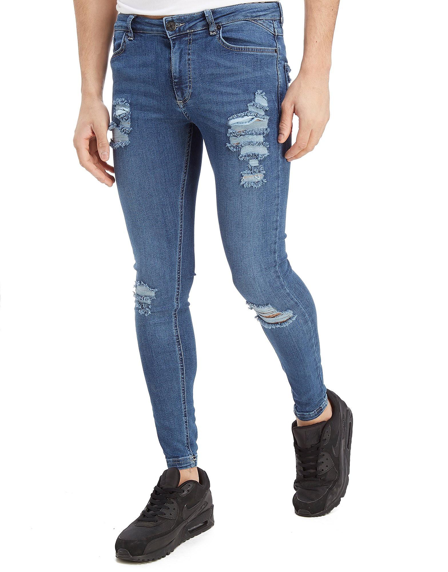 11 Degrees Ripped Denim Jeans