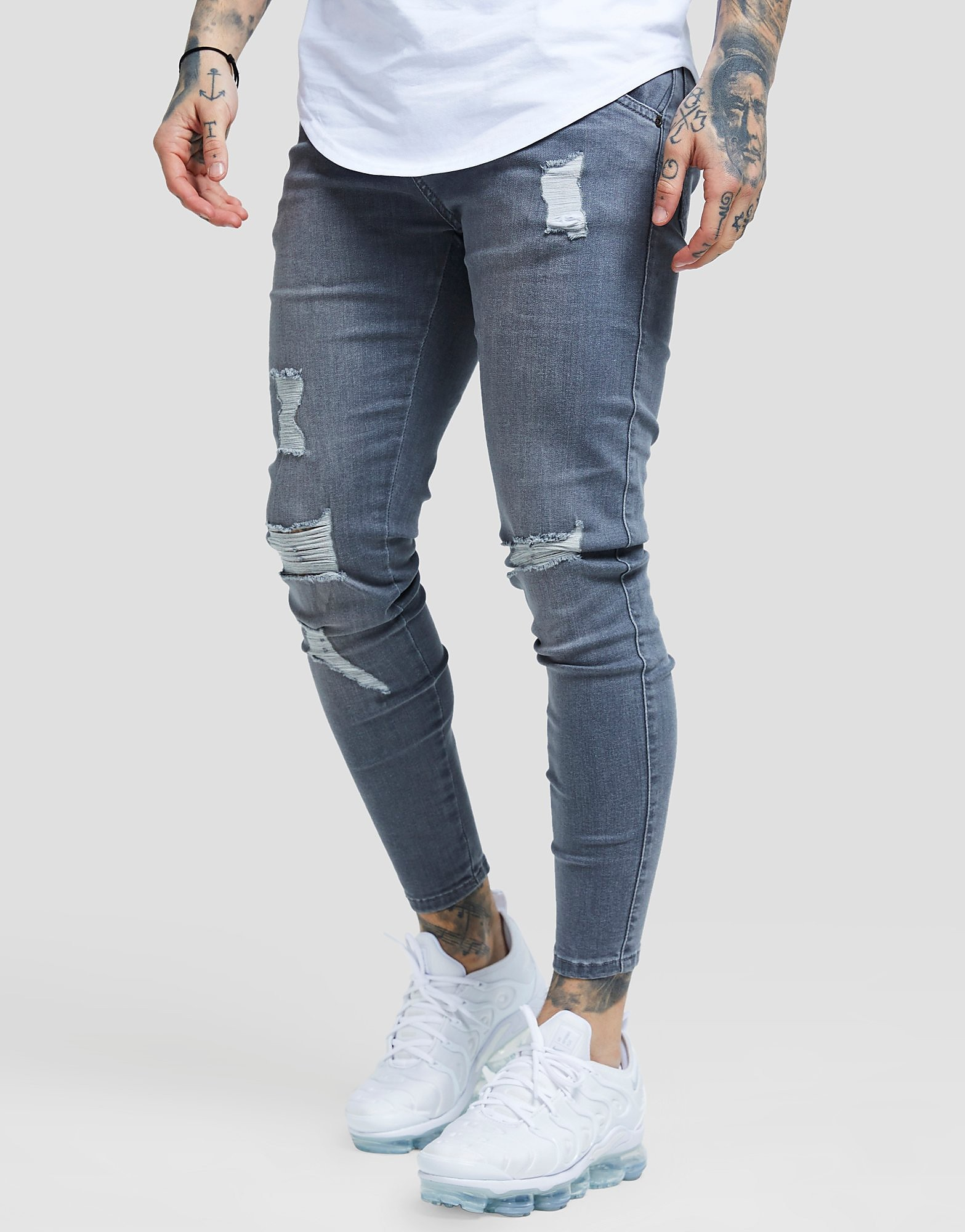 SikSilk Ripped Jeans