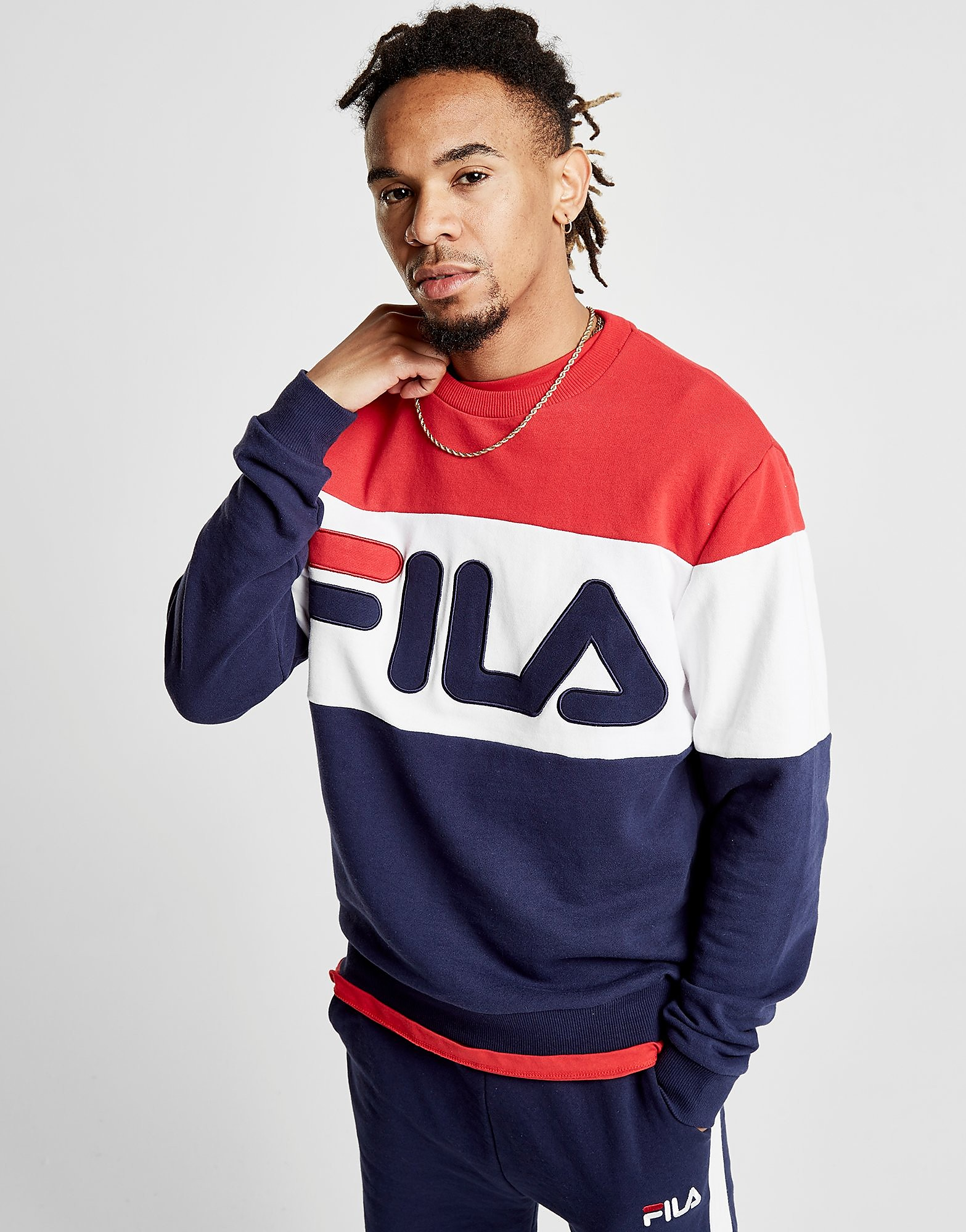 Fila Jacob Crew Sweatshirt